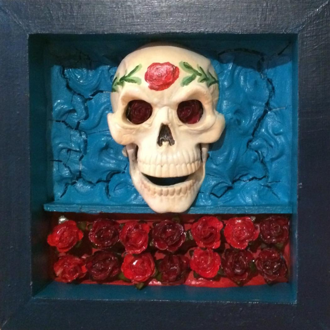Painted Skull
