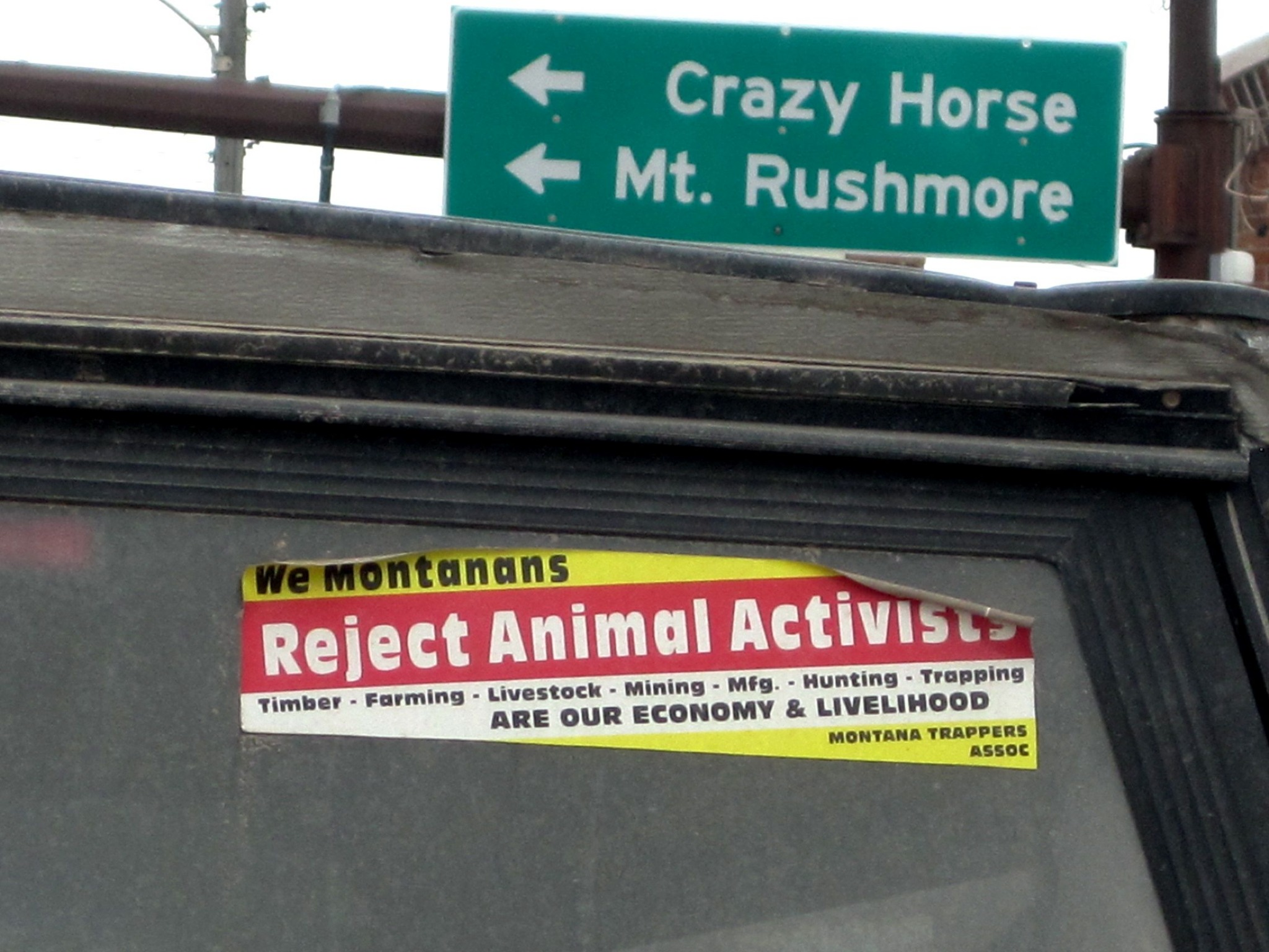 If animals have problems with our trappers' methods, then let them speak for themselves, you dumb hippies.