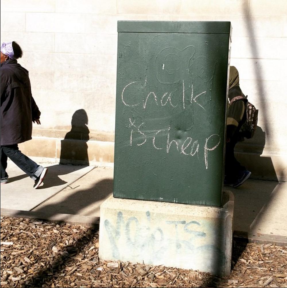 Nothing like an alliterative street pun to start your morning.