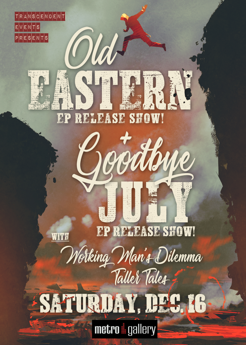 For tickets message us on www.facebook.com/oldeastern or BUY DIRECT AT:  www.mt.cm/double-ep-release-old-eastern-goodbye-july