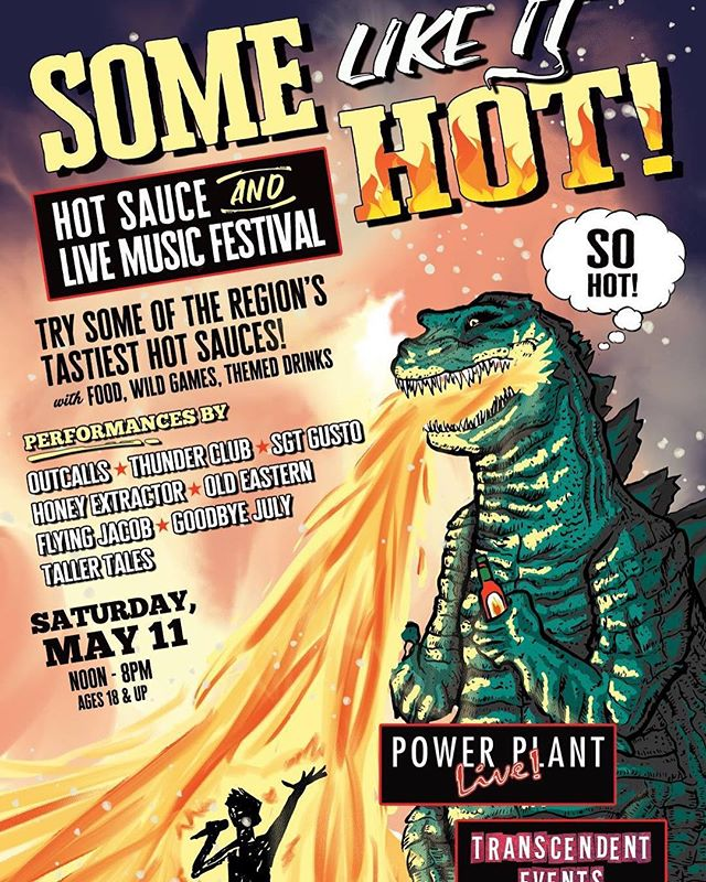Soooo hot.  Get them tickets now!  Link in profile.  Message us to get a discount code!  #fuzzyd #supportlocalmusic #damnitbrad #livemusic #transcendentevents #hothothot #hotsauce #baltimore
