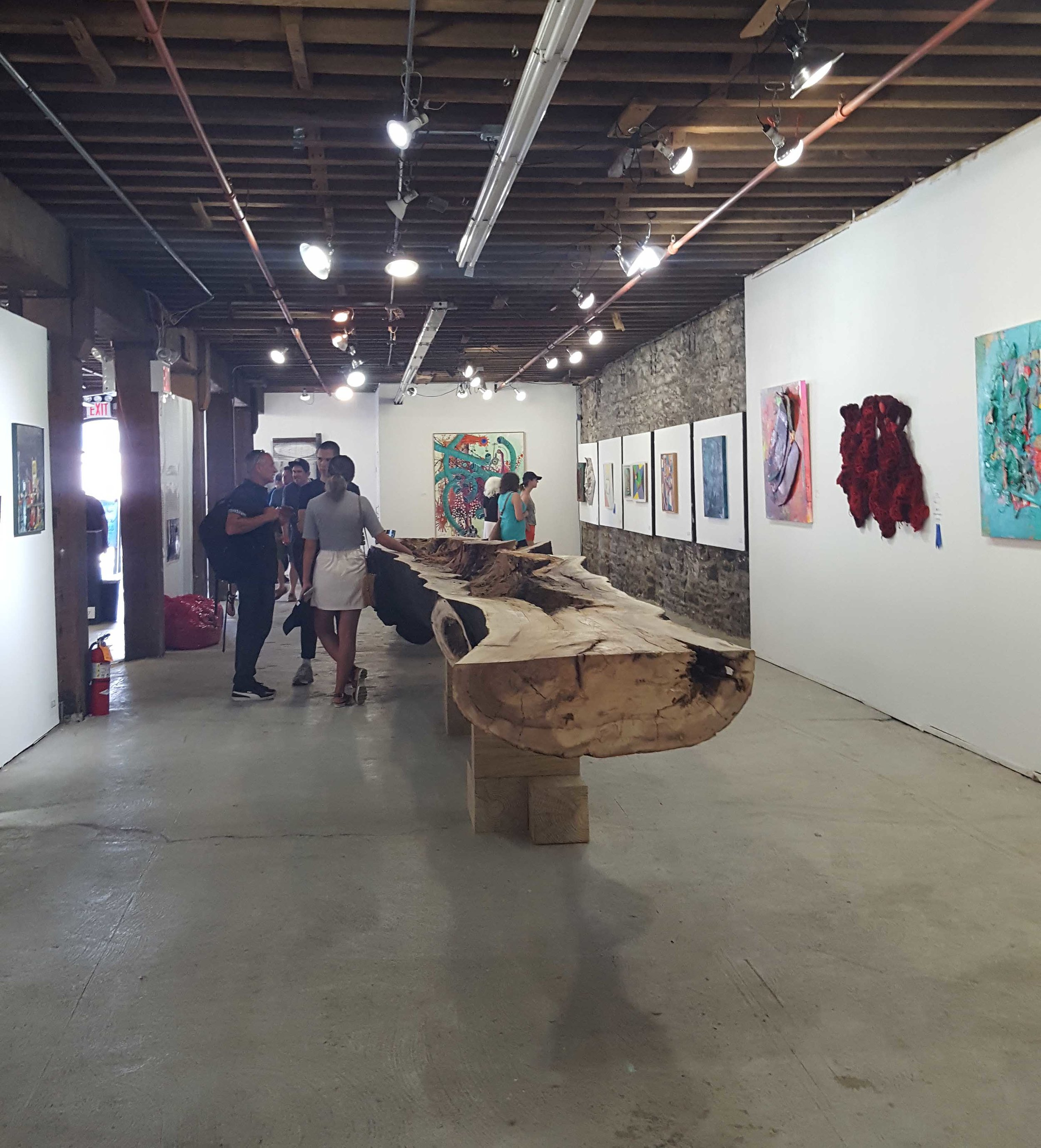 BWAC Gallery, Brooklyn NY. Color Show, 2018
