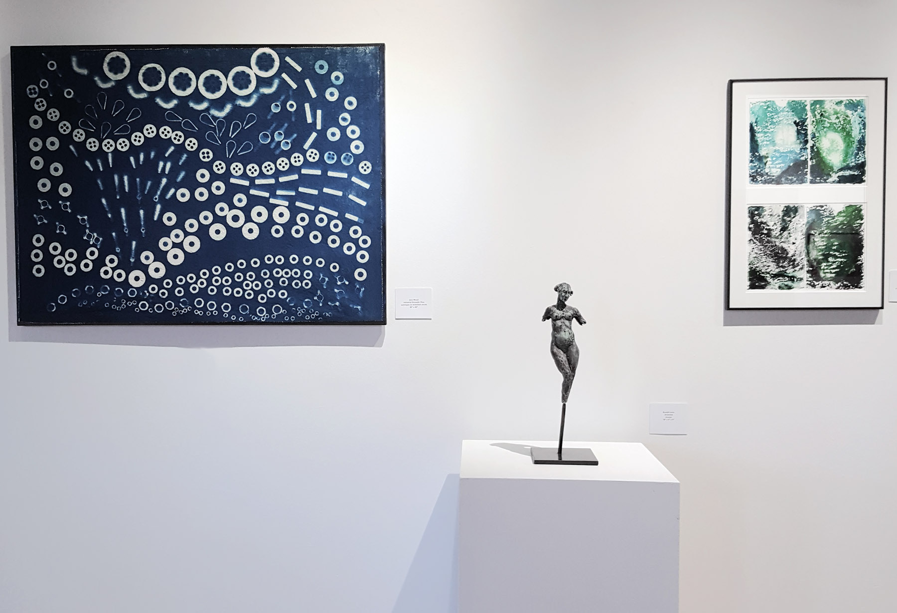 Cyanotype + Etching works, Chester Sidell Gallery, EAC