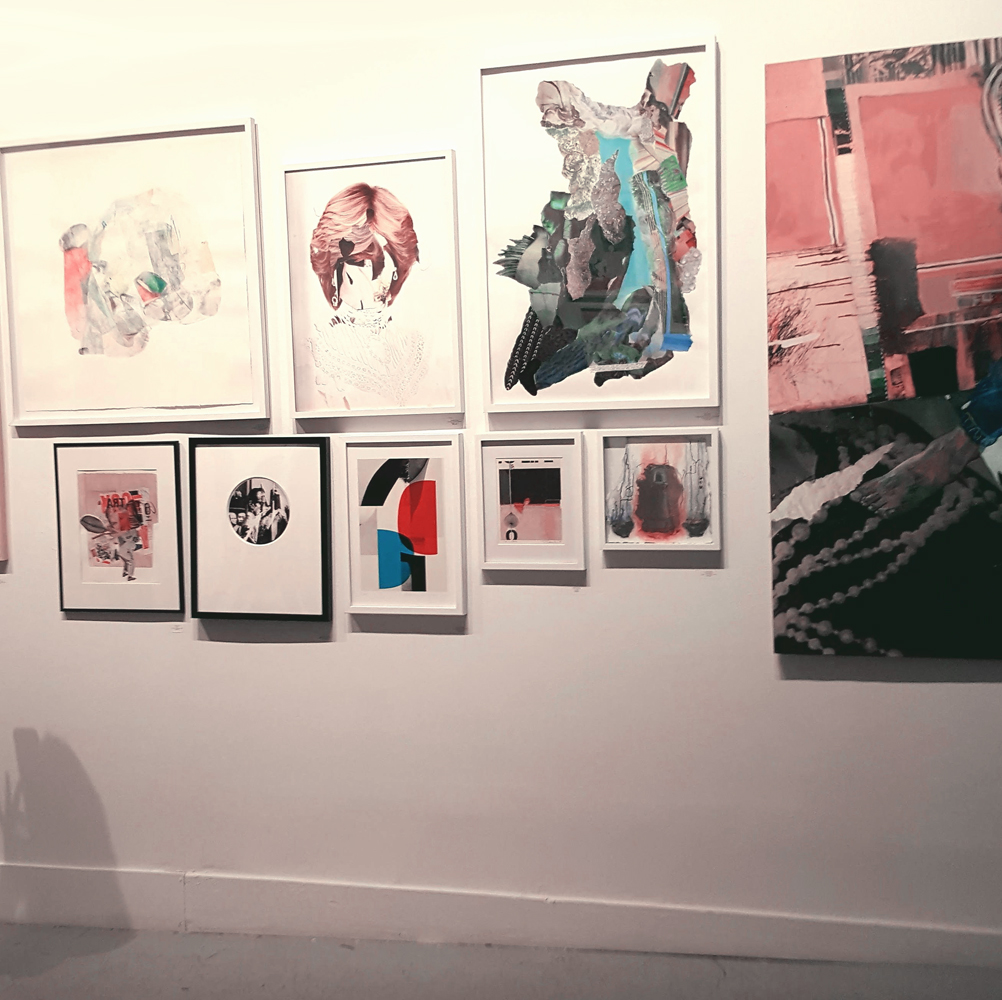 "Site: Brooklyn Gallery, ""Collage"" exhibition, 2019"