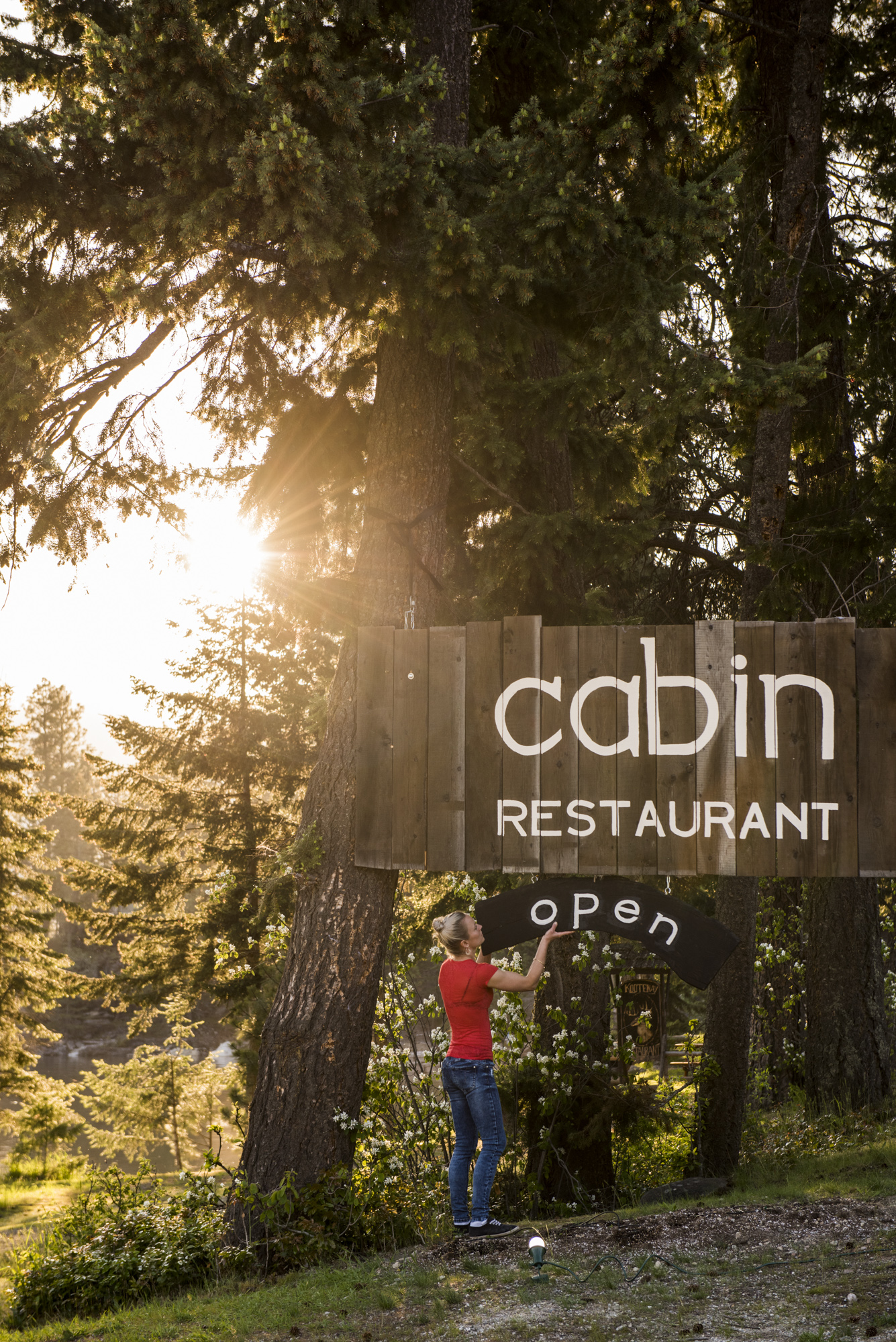 cabin-hanging sign.jpg
