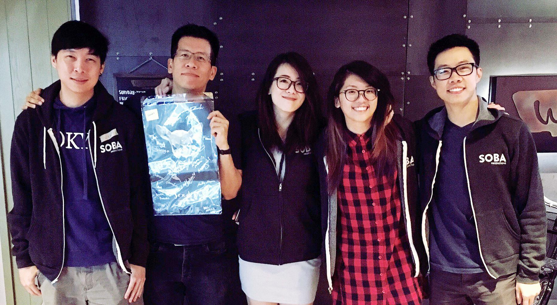 Names from left to right:Nicholas Quek,Bay Gann Boon,Ching Yee (Honda), Yee Sum Hoi, and Julian Teo