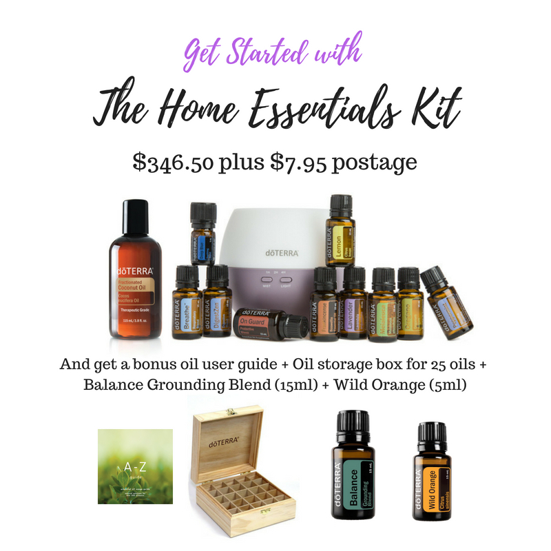 If you want to order this, select the home essentials kit and then add Fractionated Coconut oil to your order.