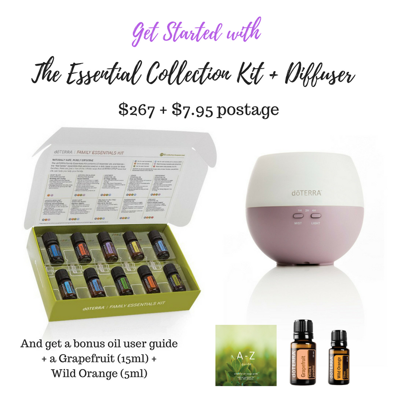 If you want to order this starter kit, select the 'Family Essentials Kit with Smart + Sassy' and add the Petal Diffuser to your order.