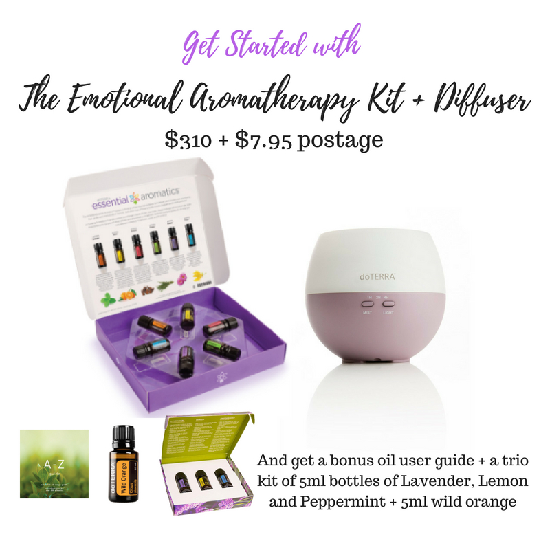 If you want to order this kit, select 'Emotional Aromatherapy Kit' from the top menu once you have popped in your details.
