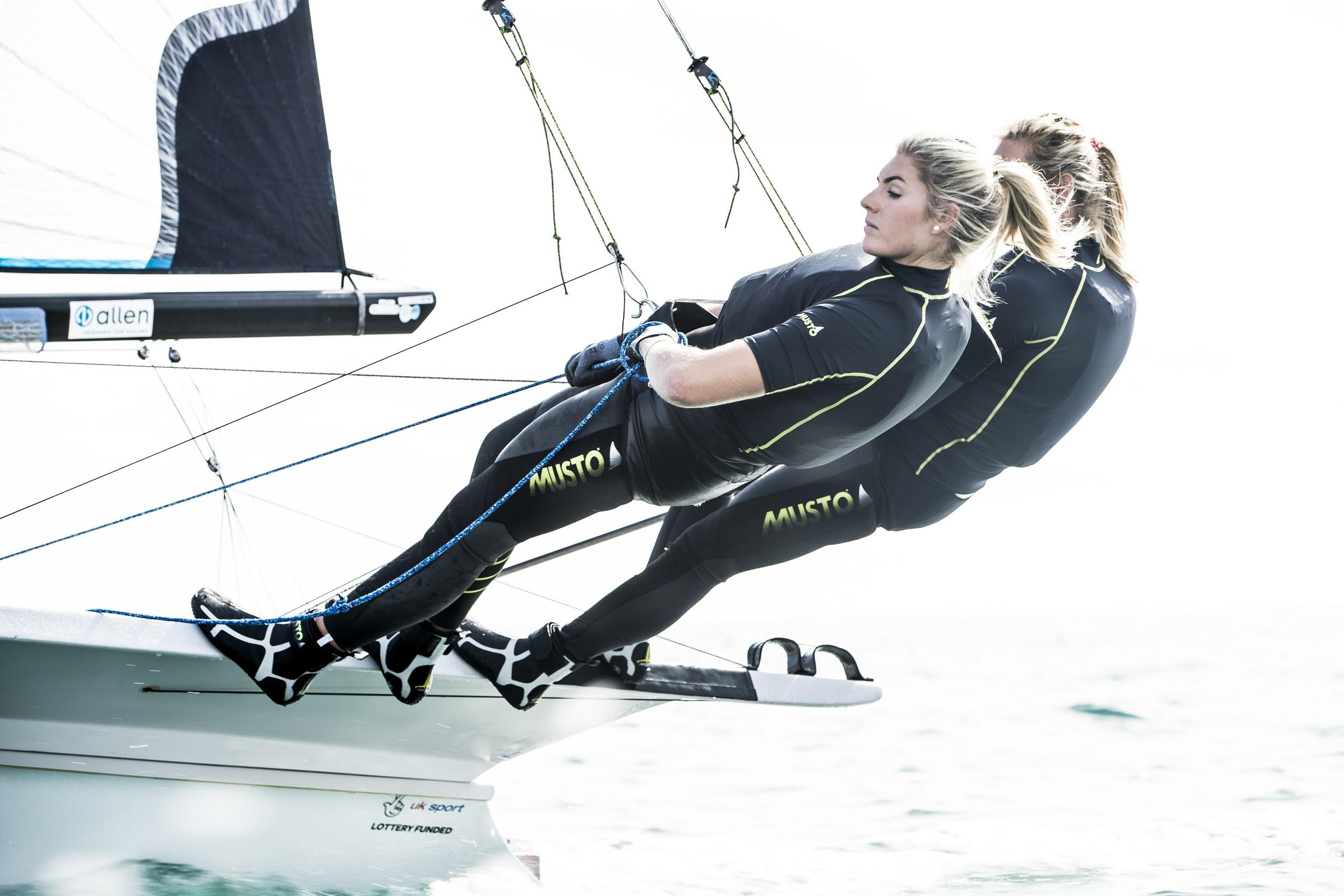 Photo credit: Sailing brand -  MUSTO  Fabric technology features include fast-drying and super lightweight UV and impact protection, delivering superior comfort and agility to active sailors.