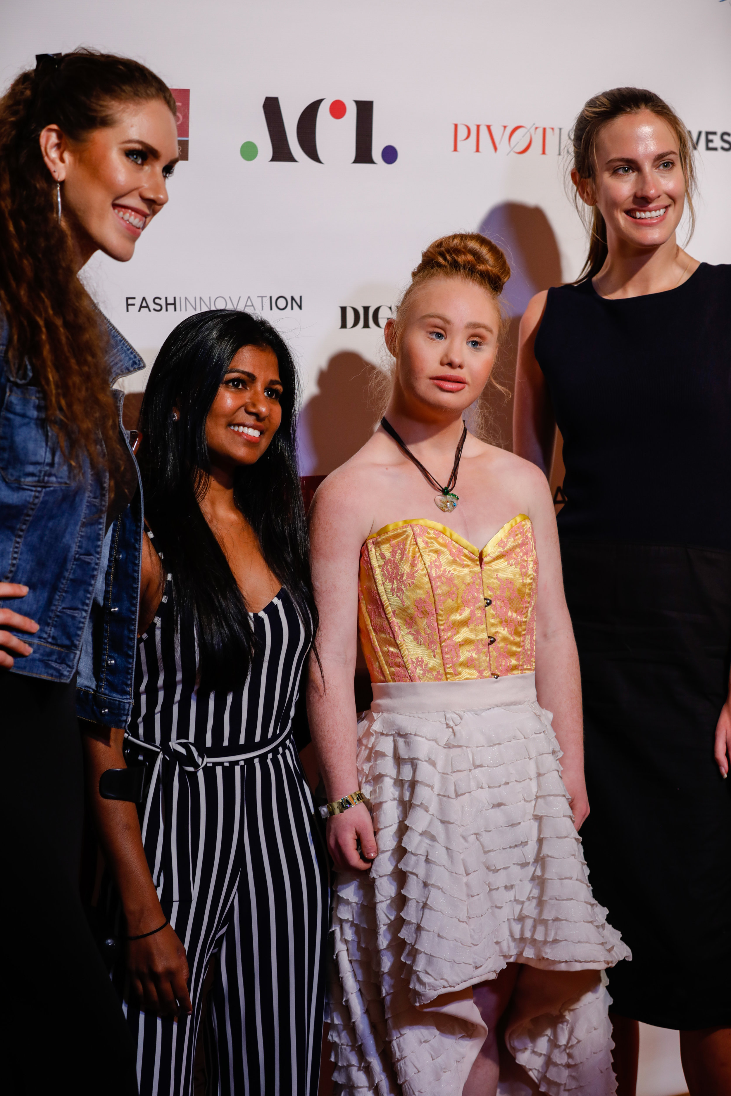 Rajee Aerie - Aerie disability campaign model, Madeline Stuart - Australian model with down syndrome, Christina Mallon - director of Open Style Lab.jpg