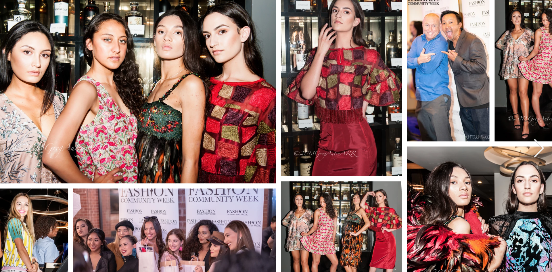 Previous Fashion Community Events, been running for over 5 years now!