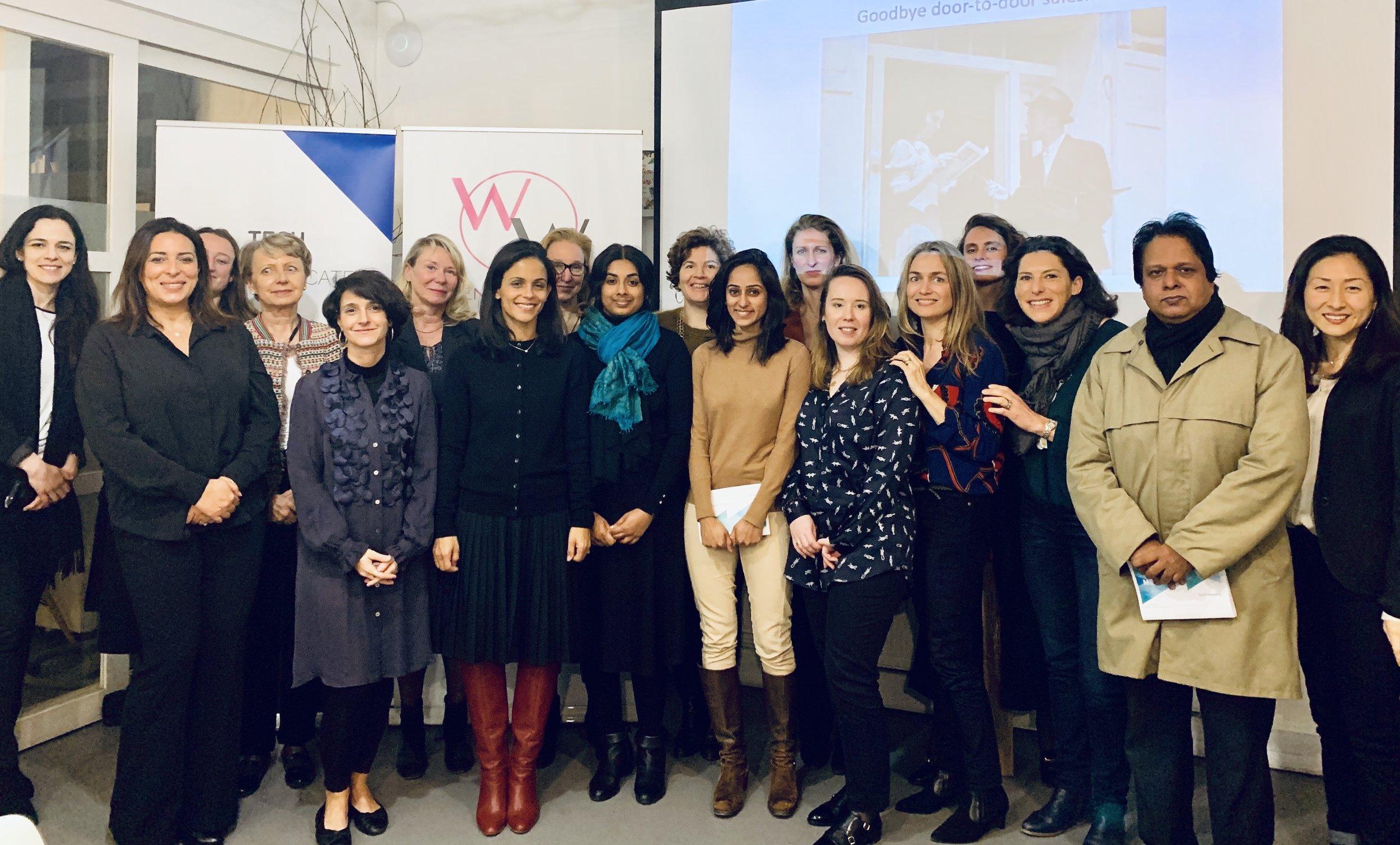 WoW Paris March meetup — WOMEN OF WEARABLES