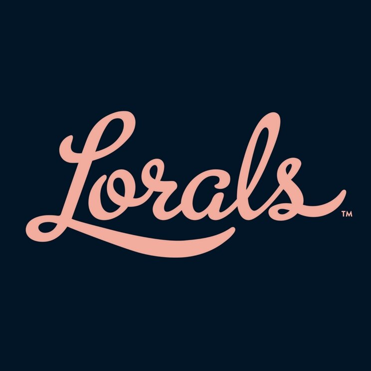 Lorals Peach Logo Navy Background.jpg