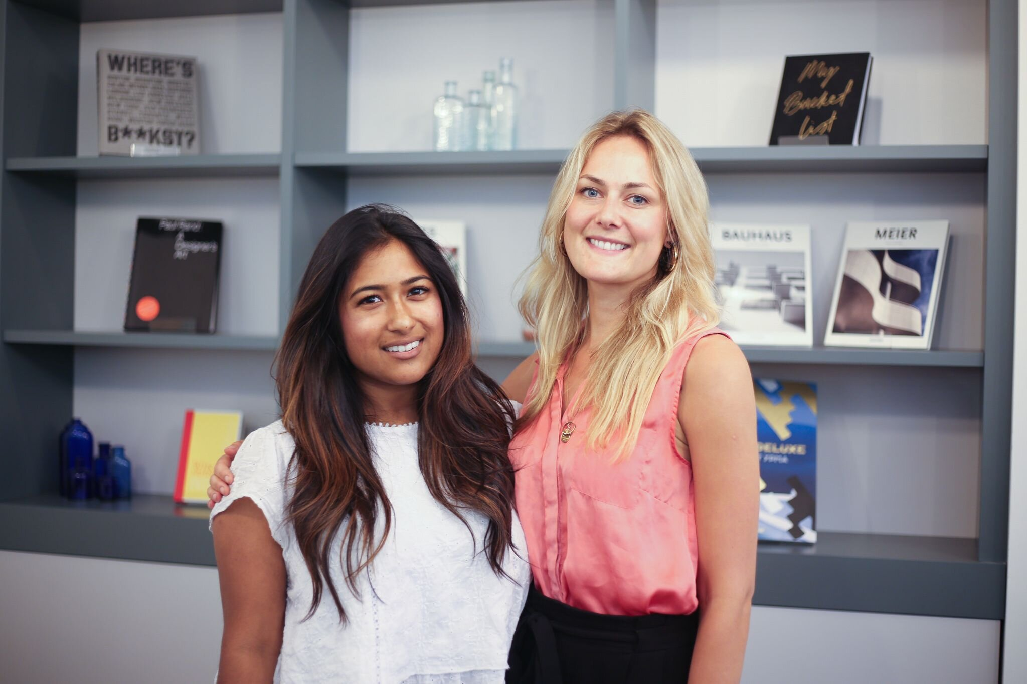 HANX founders: Farah Kabir and Sarah Welsh
