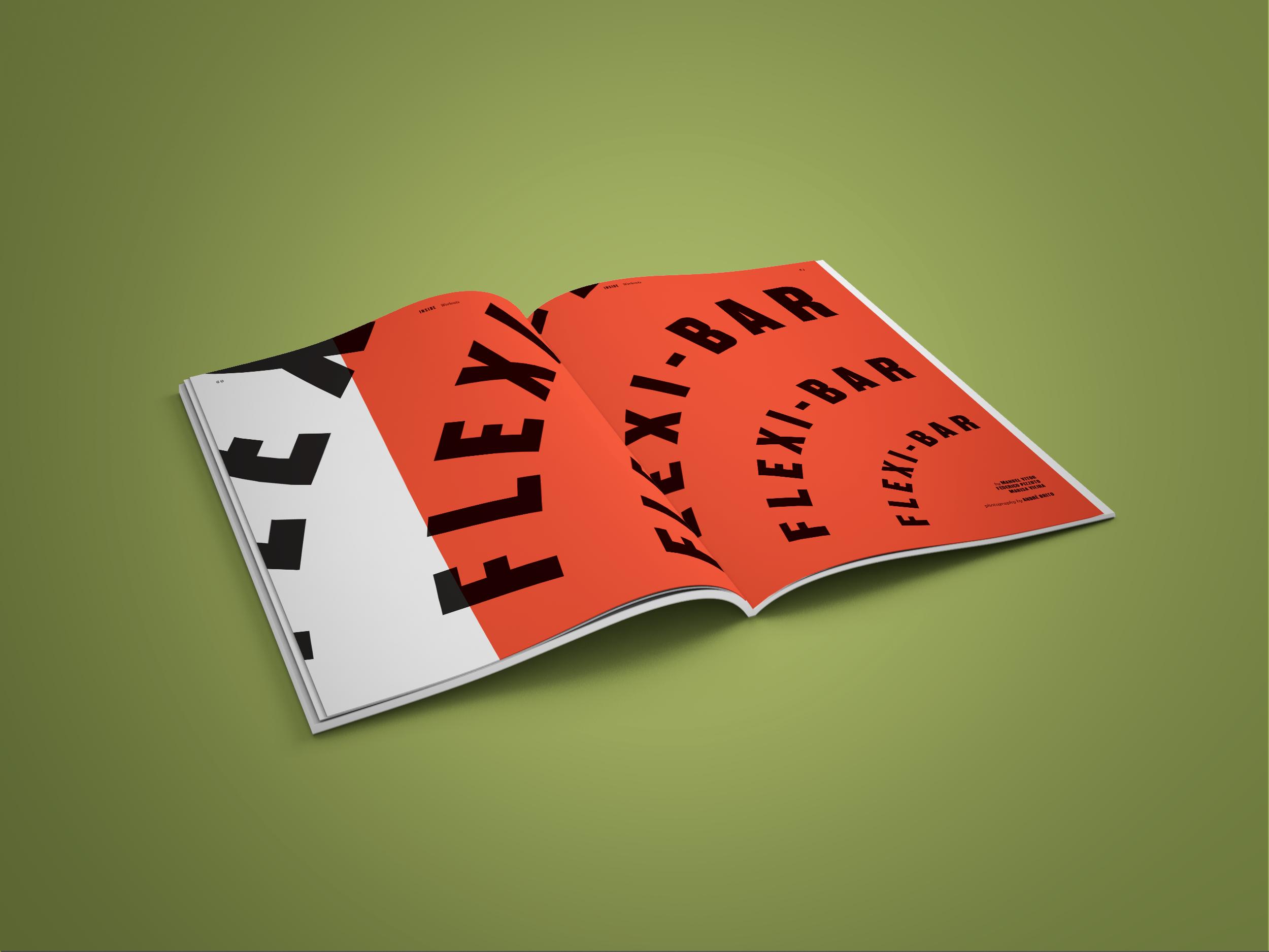 As propostas de exercícios de treino são têm uma presença obrigatória a cada edição. Na edição nº2, são apresentados exercícios com a utilização da Flexi-bar.