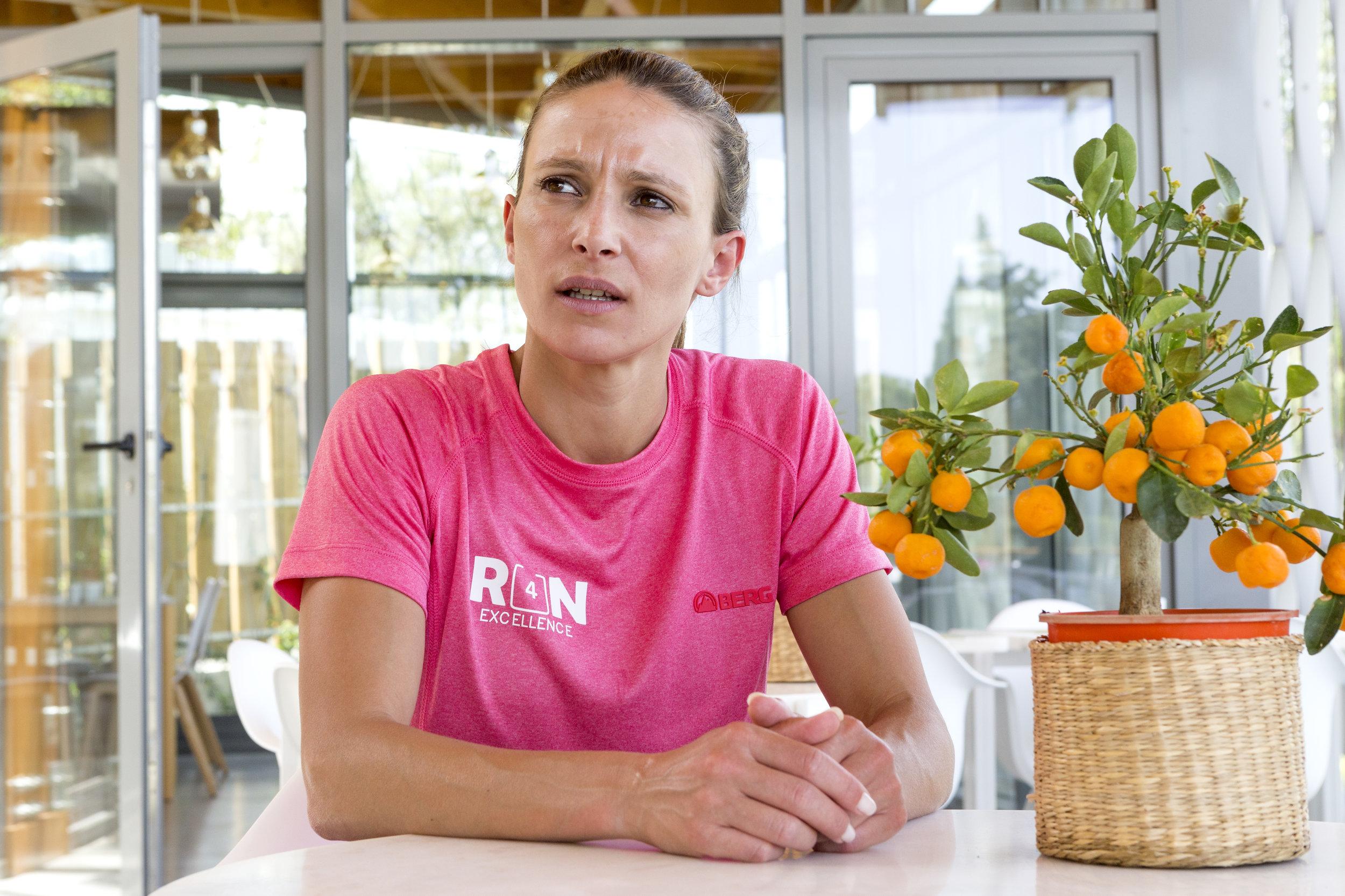 Marisa Vieira, será uma das técnicas do projeto run4excellence, responsável por este training camp (foto no OZADI Tavira Hotel).