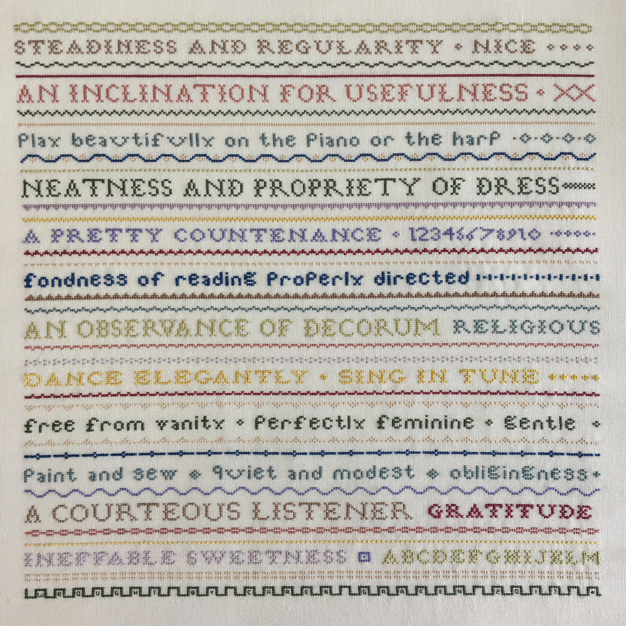 Jane Austen Community Quilt Project, Caren Garfen, Image 1.jpg