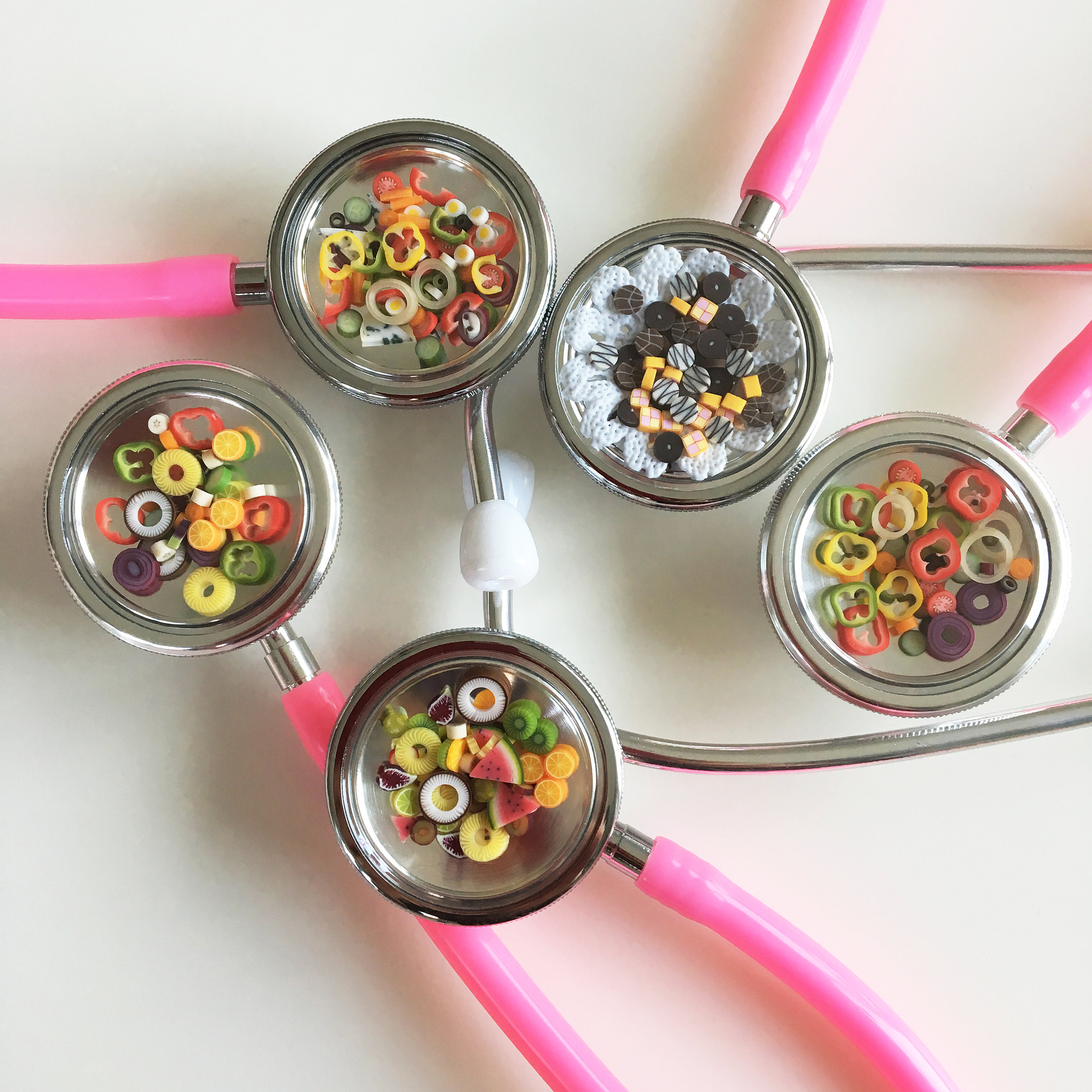 Healthy eating stethoscopes…