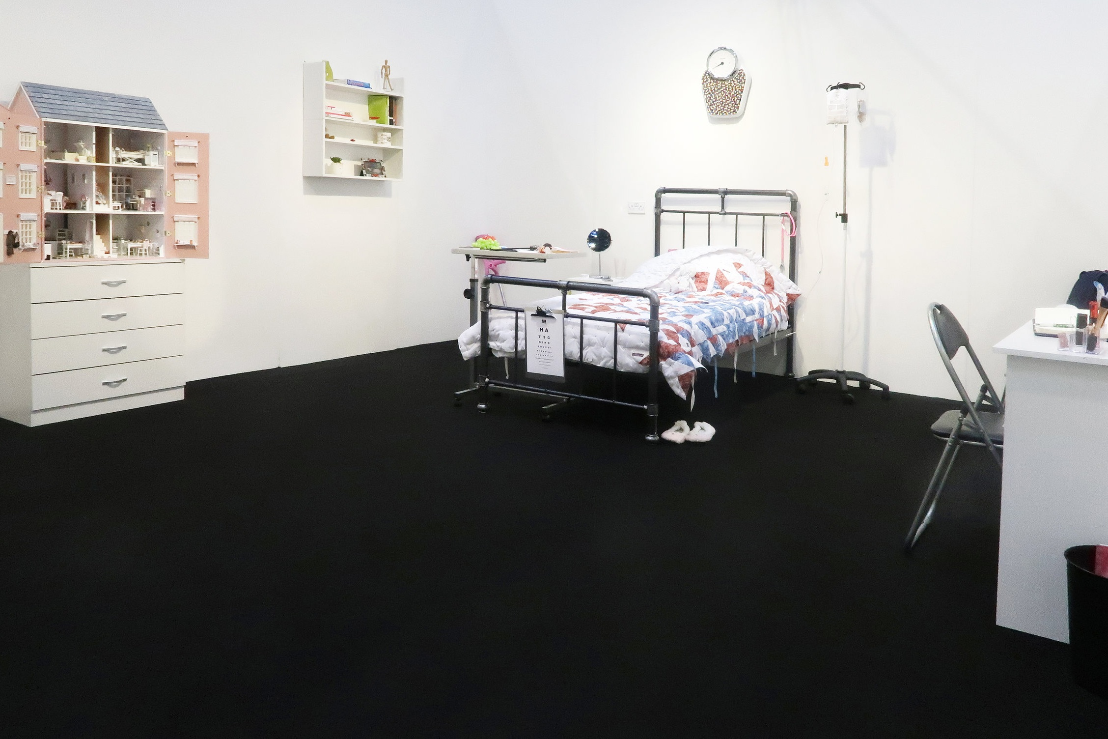 What's Going On Upstairs, 2018 - Installation