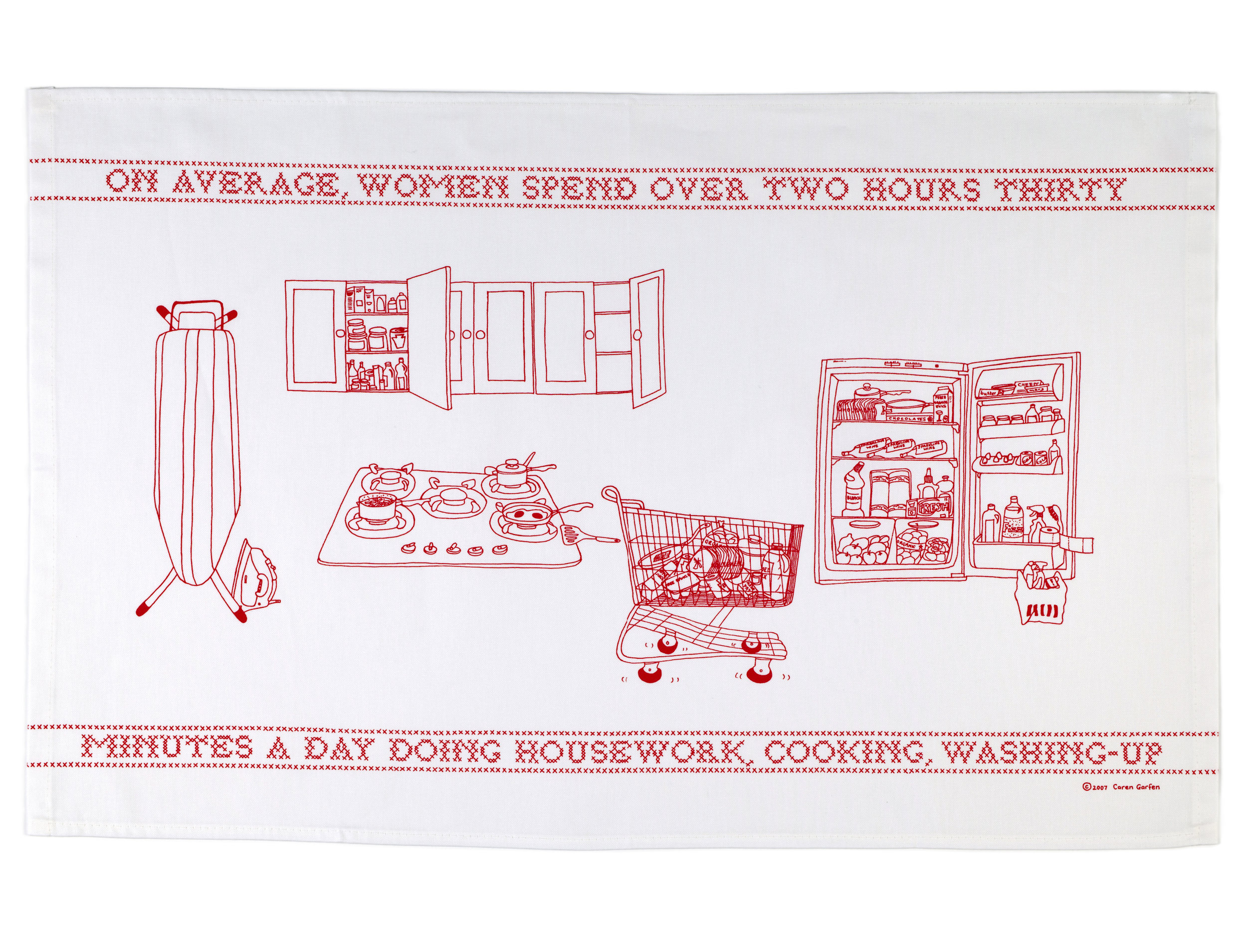 Limited edition designer tea-towels (sold out)