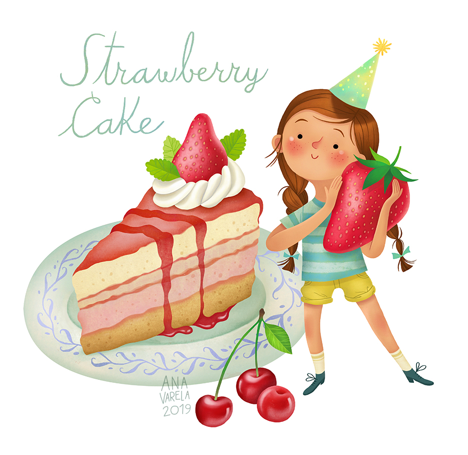 Strawberry Cake | 2019