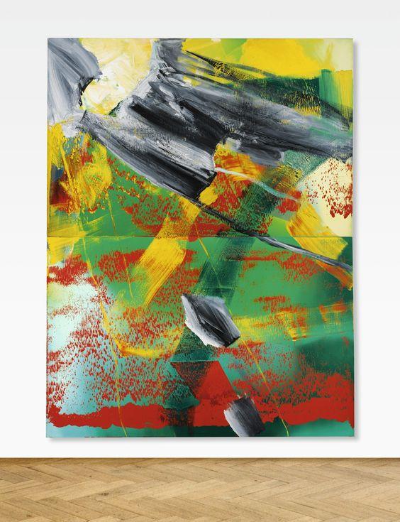 Malba Garten od Gerharda Richtera vydražená v podzimní večerní aukci v Sotheby´s v Londýně. Zdroj:  webové stránky aukční síně