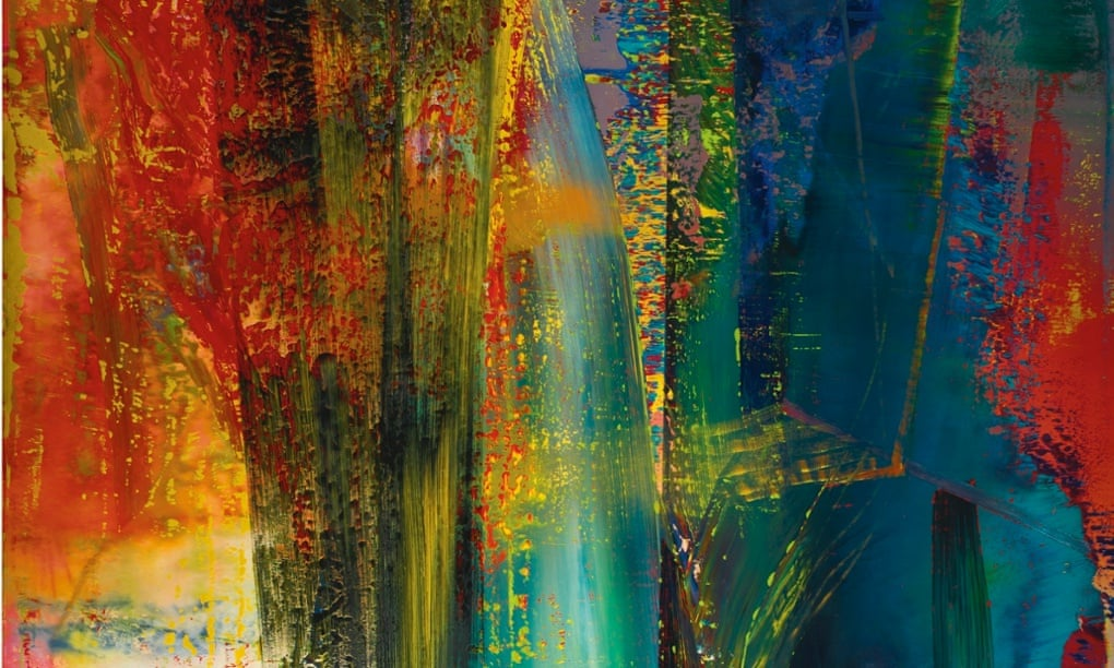 Abstraktes Bild, 1986, olej na plátně, 300,5 x 250,5 cm. Zdroj:  Theguardian.com
