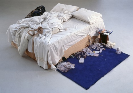 Tracey Emin, My Bed, 1998. All rights reserved, DACS 2014. Photo credit: Courtesy The Saatchi Gallery, London / Photograph by Prudence Cuming Associates Ltd. Source:  www.tate.org.uk
