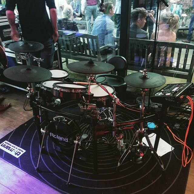 Roland TD30K at a gig