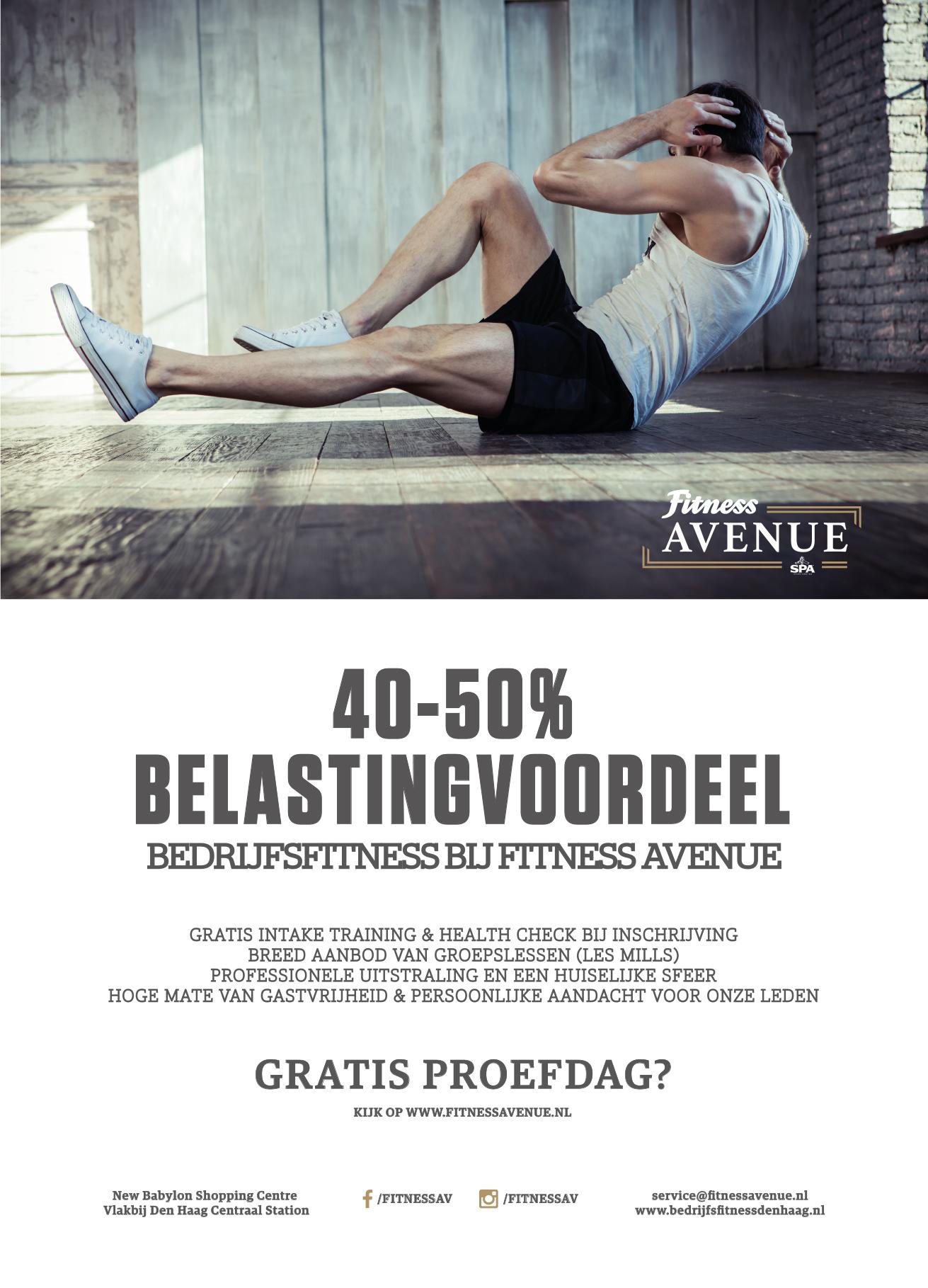Bedrijfsfitness poster Fitness Avenue.jpg
