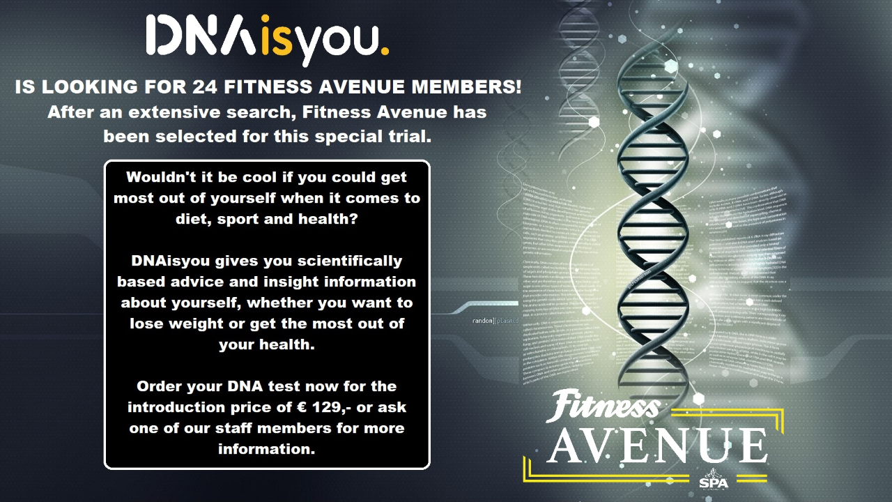 * We respect your privacy / Your DNA test remains anonymous and is not beeing shared/ DNAisyou only tests your DNA in the field of nutrition and sports health