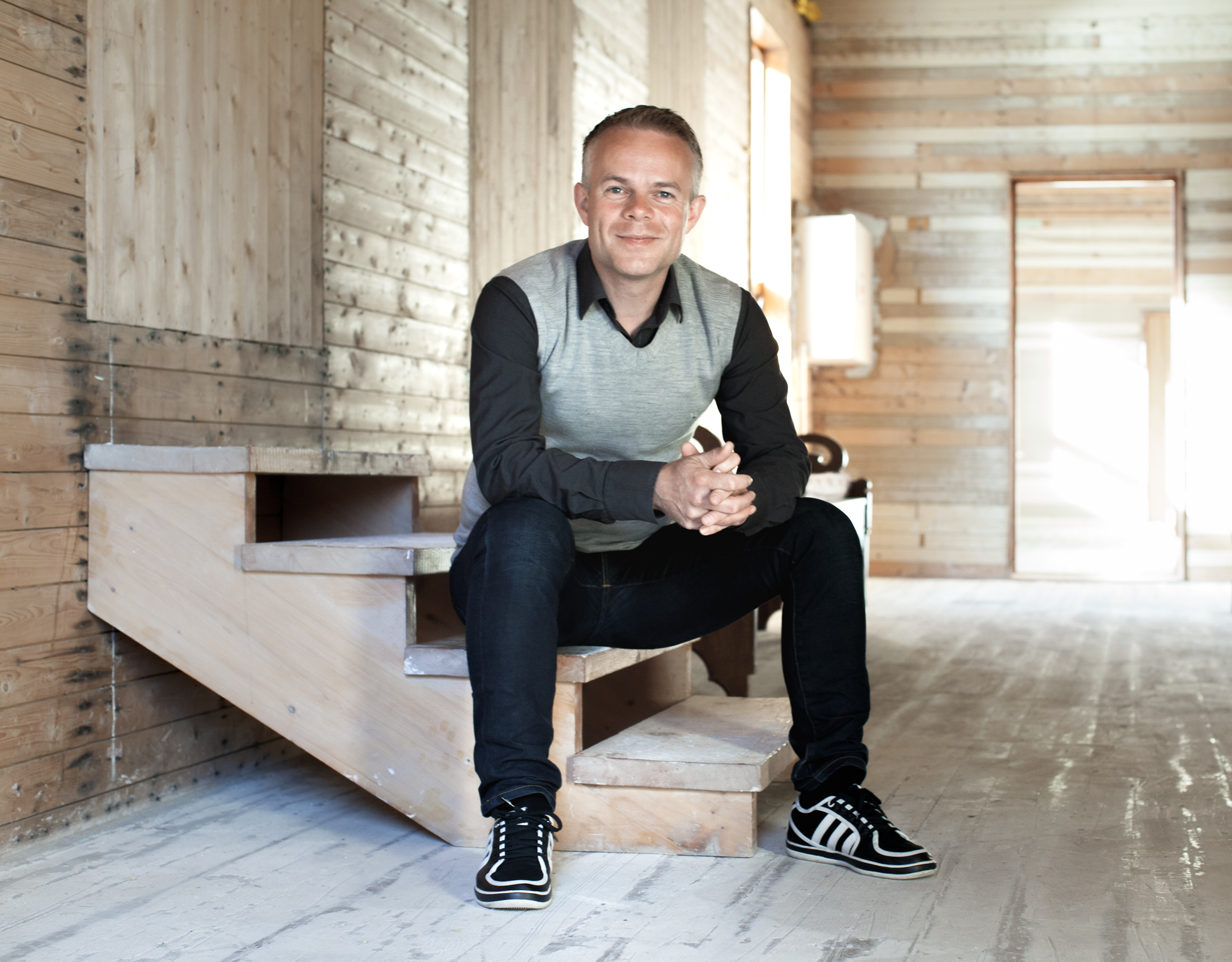 Novelist Tore Renberg