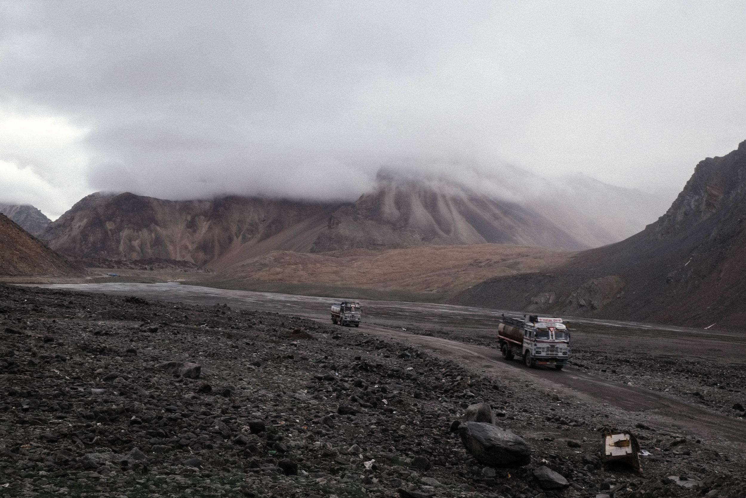 Lesly Lotha - road to Leh 10