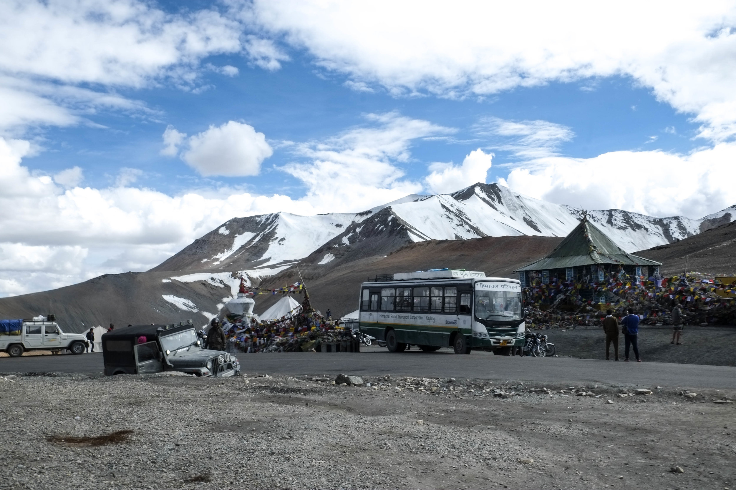 Lesly Lotha - road to Leh 11