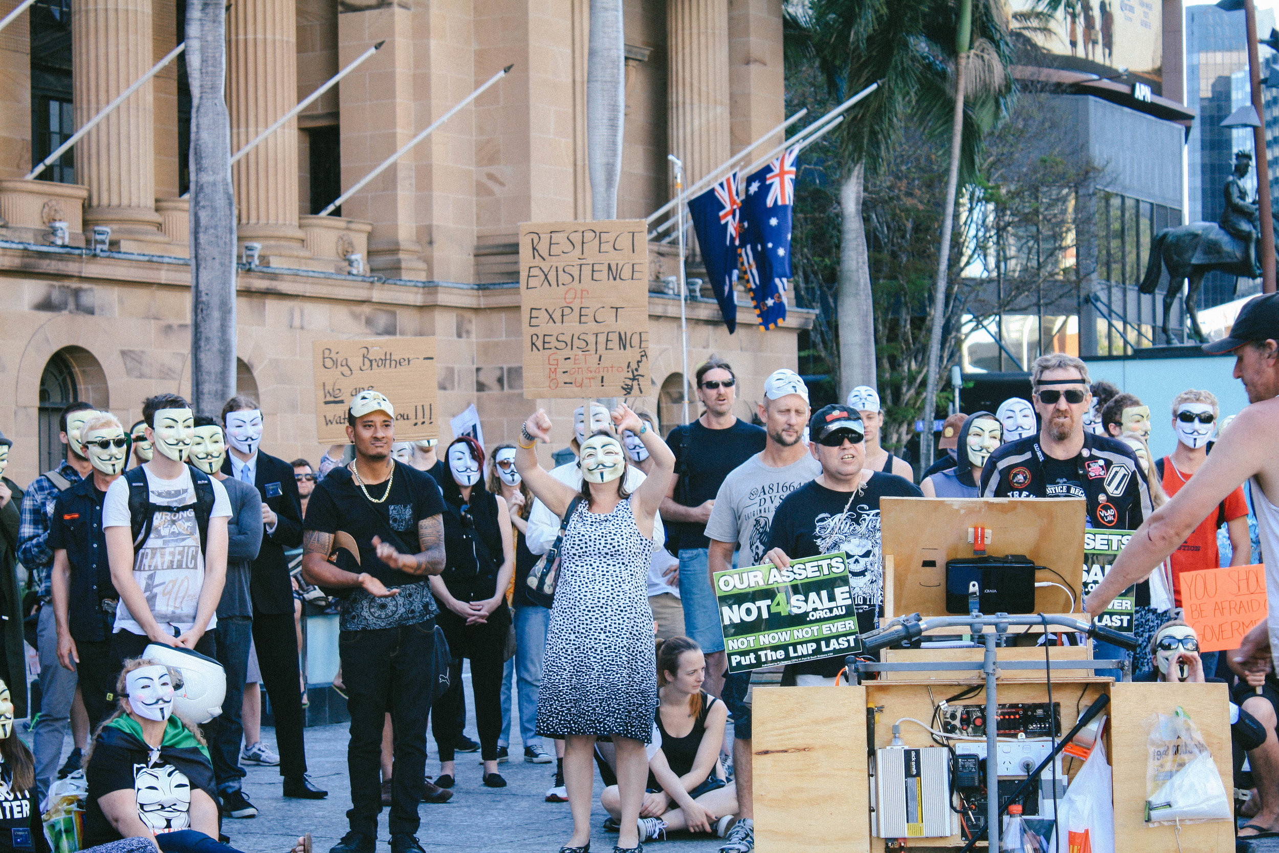 Lesly Lotha_Newzulu_Million_Mask_March_Brisbane_Australia_02