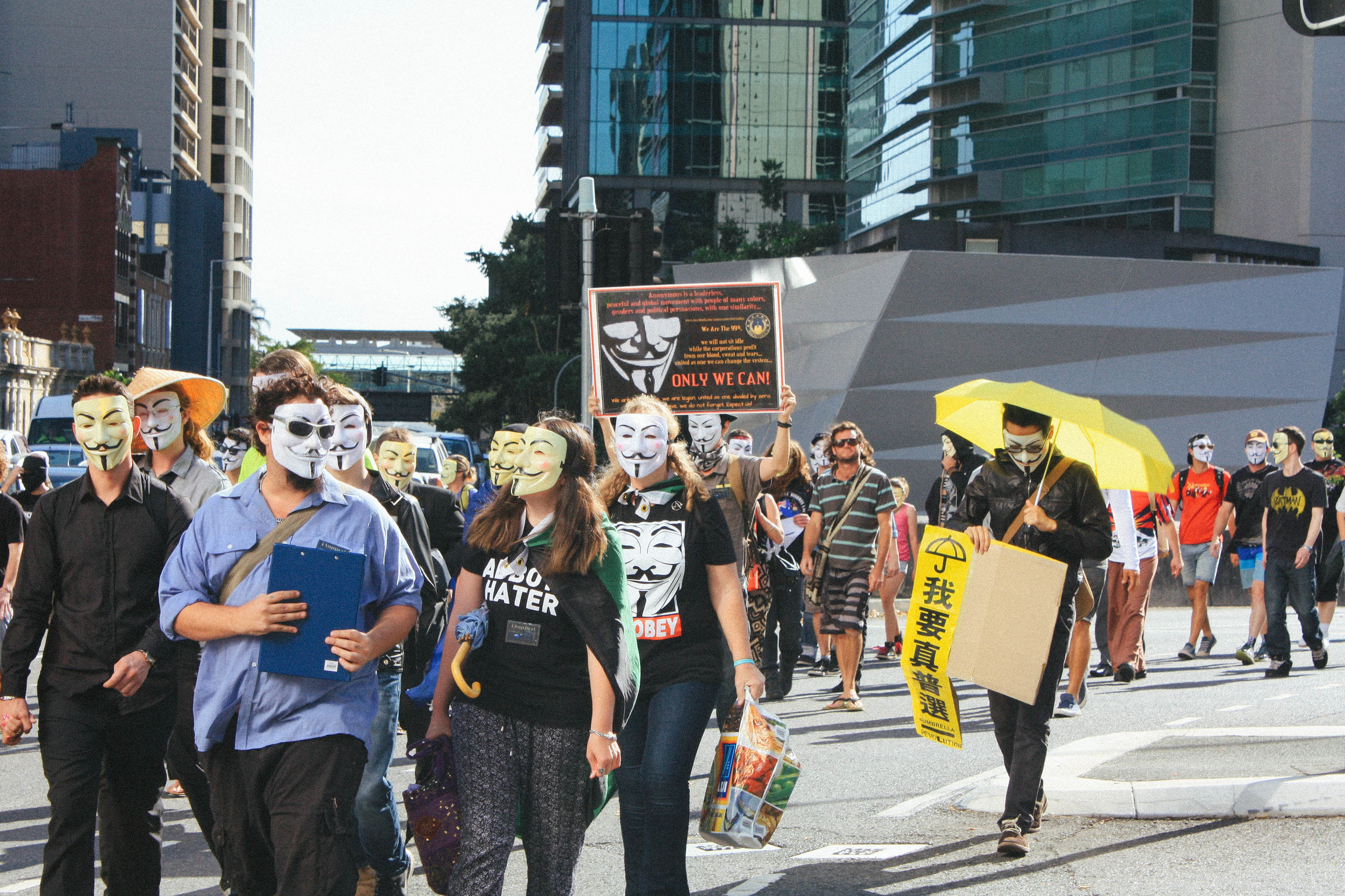 Lesly Lotha_Newzulu_Million_Mask_March_Brisbane_Australia_03