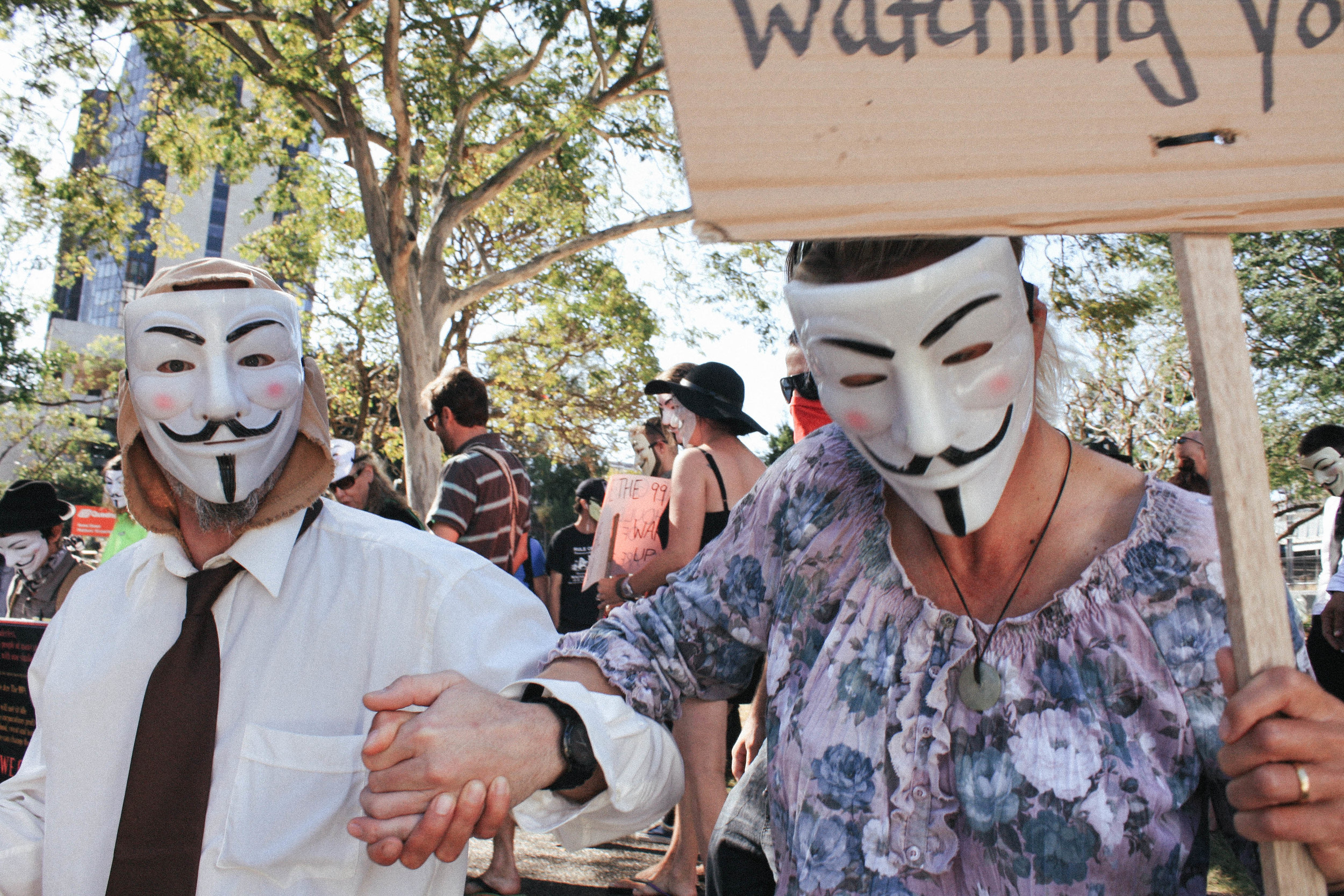 Lesly Lotha_Newzulu_Million_Mask_March_Brisbane_Australia_06