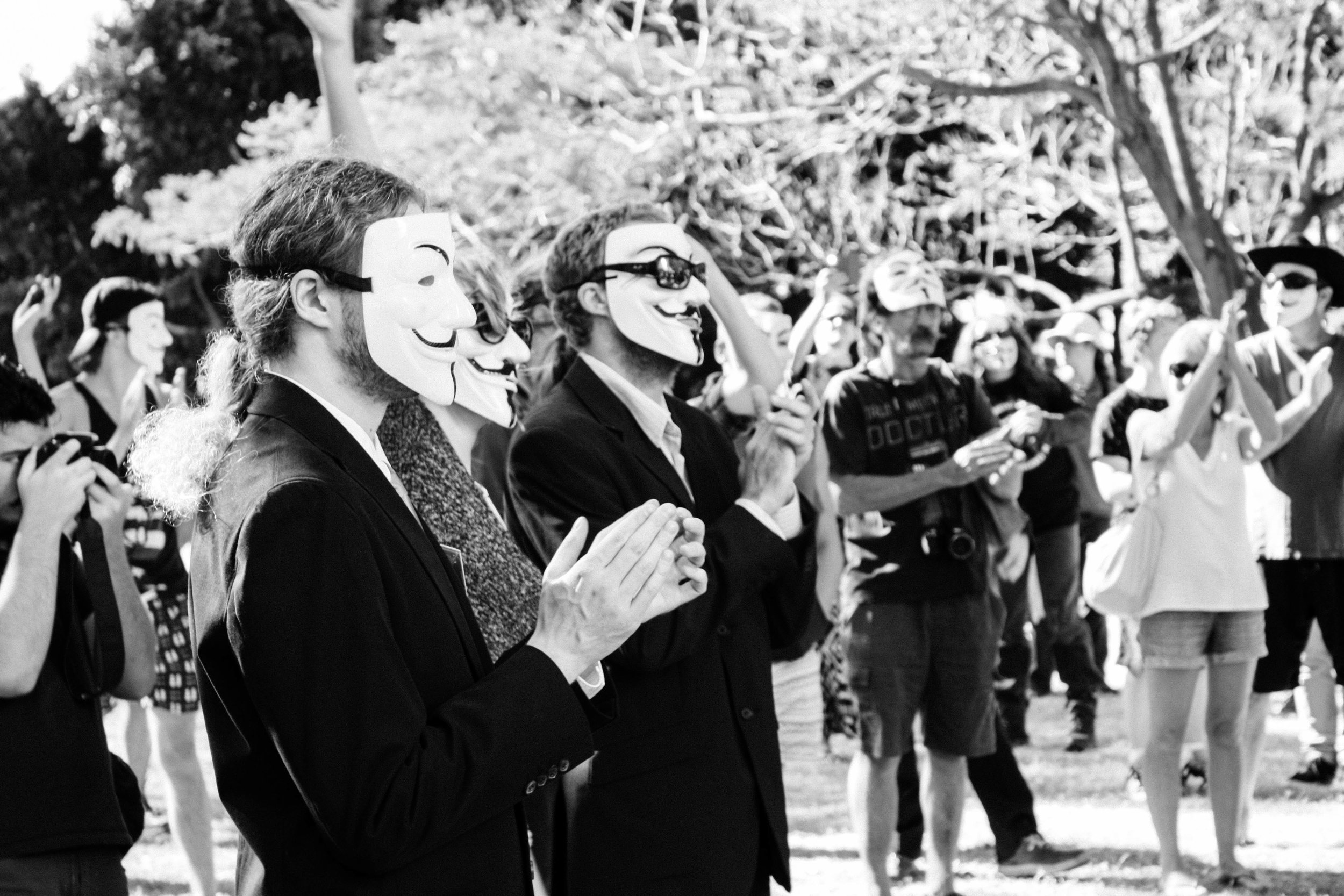 Lesly Lotha_Newzulu_Million_Mask_March_Brisbane_Australia_07