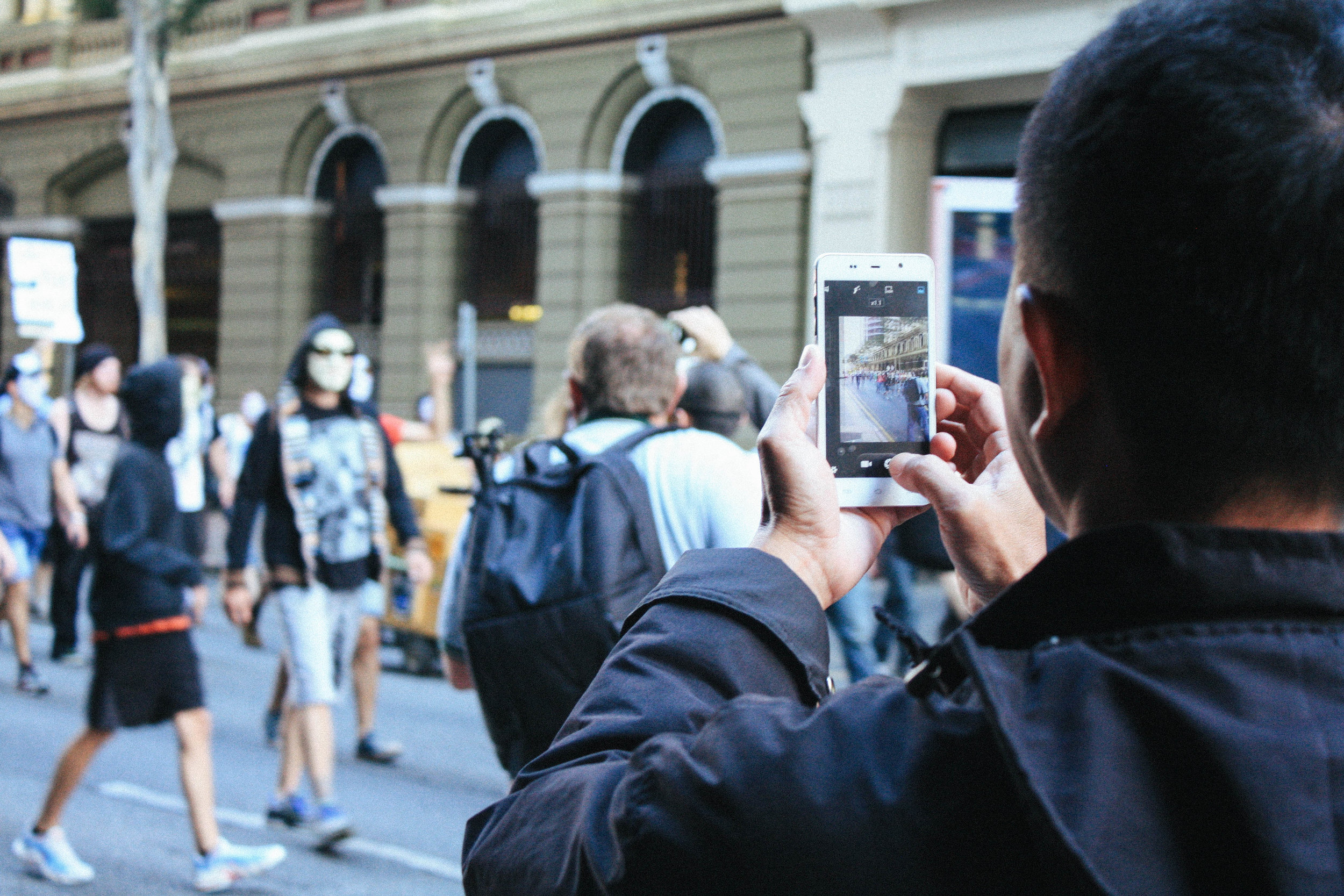 Lesly Lotha_Newzulu_Million_Mask_March_Brisbane_Australia_08