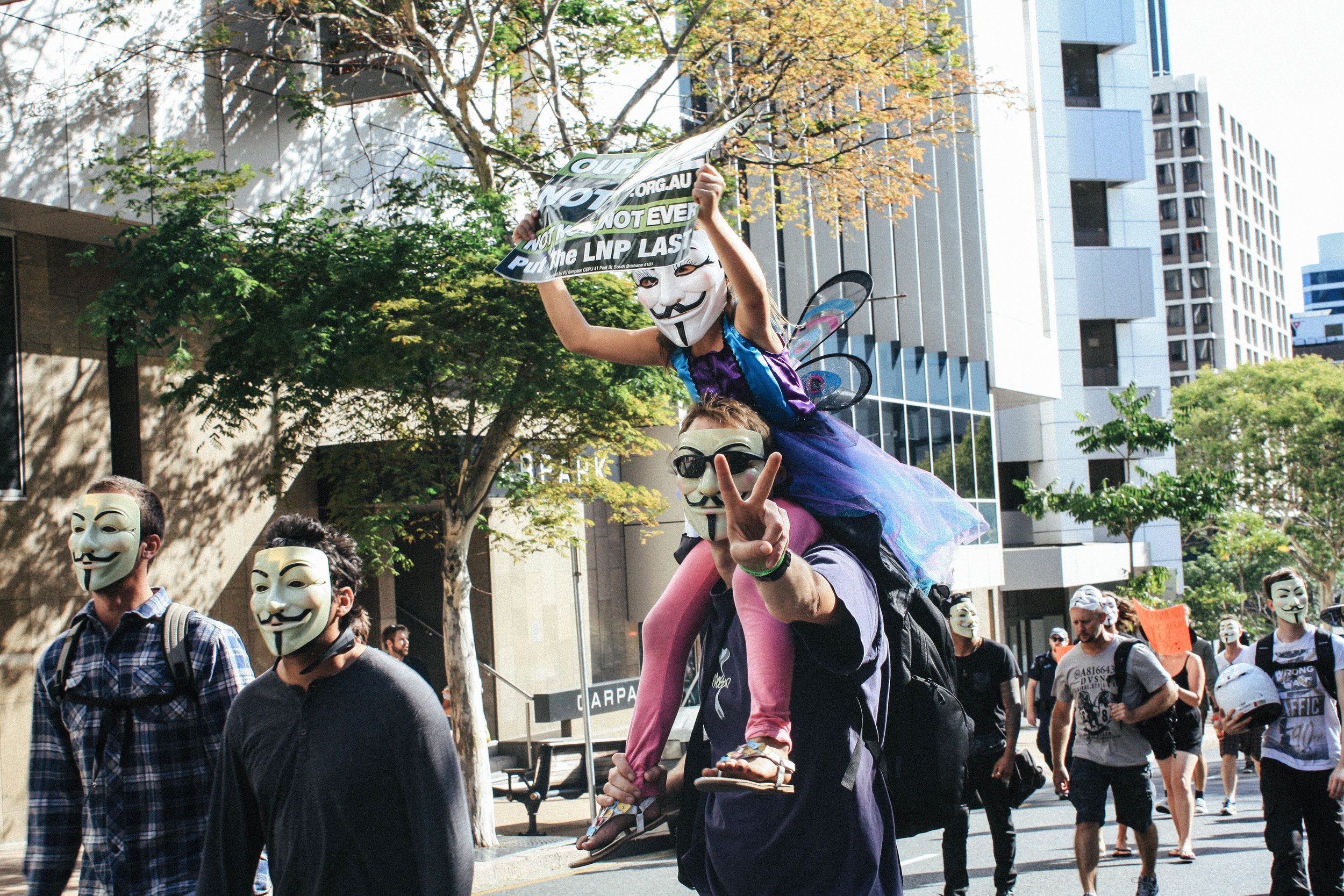 Lesly Lotha_Newzulu_Million_Mask_March_Brisbane_Australia_09