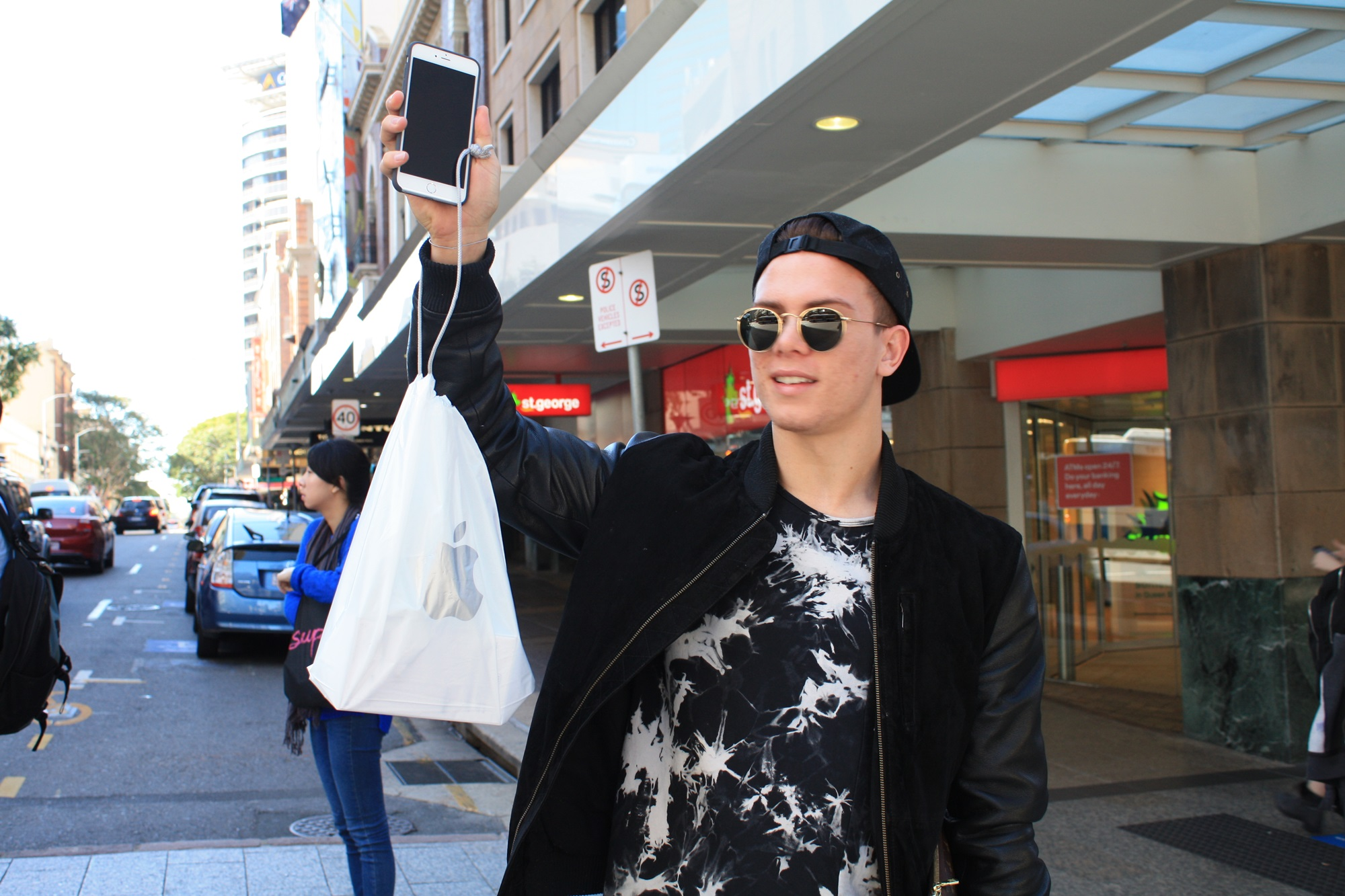 Lesly Lotha_Newzulu Australia_iphone 6 launch_Brisbane_Australia 01