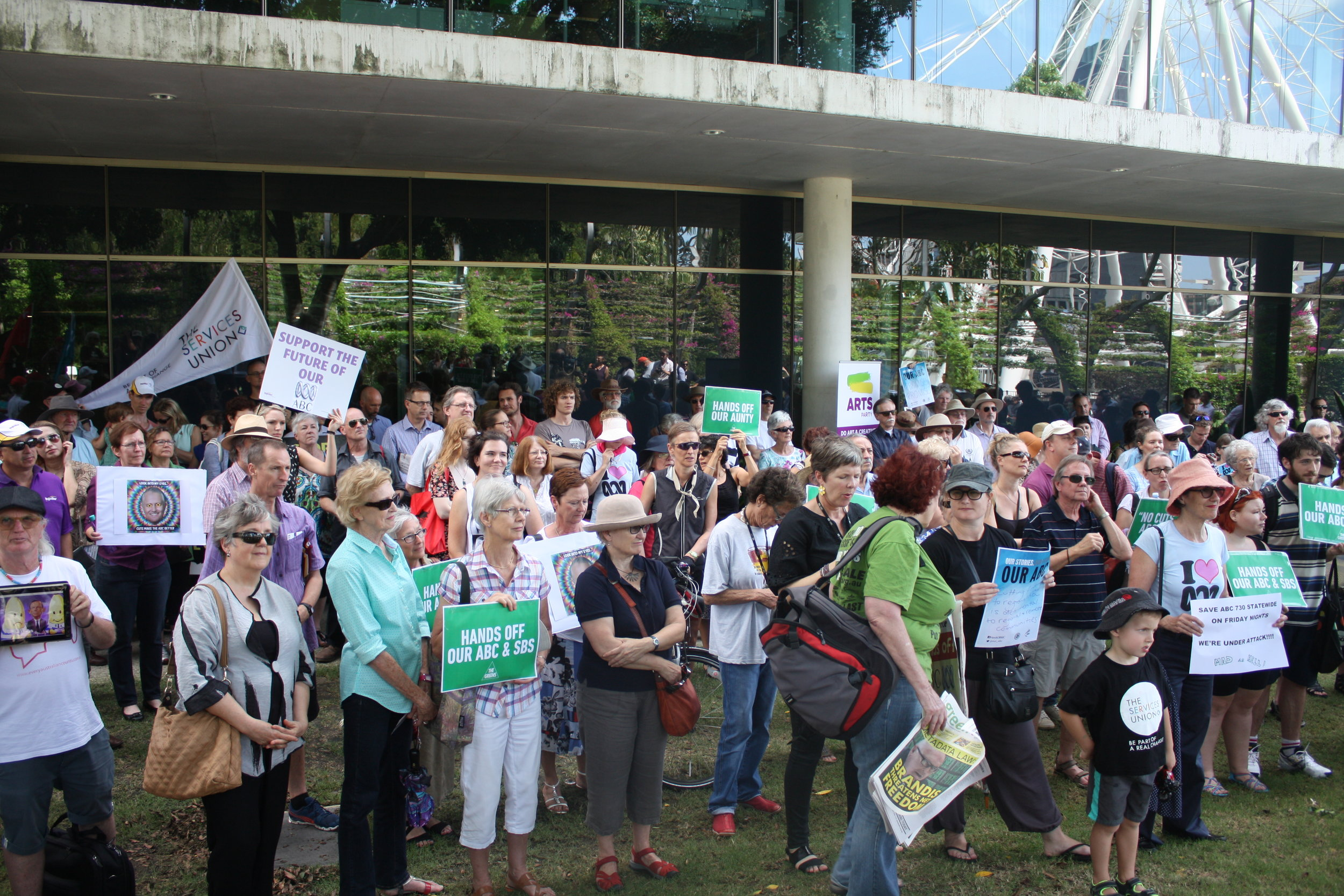 Lesly Lotha_Newzulu Australia_ABC cuts protest_Brisbane 03