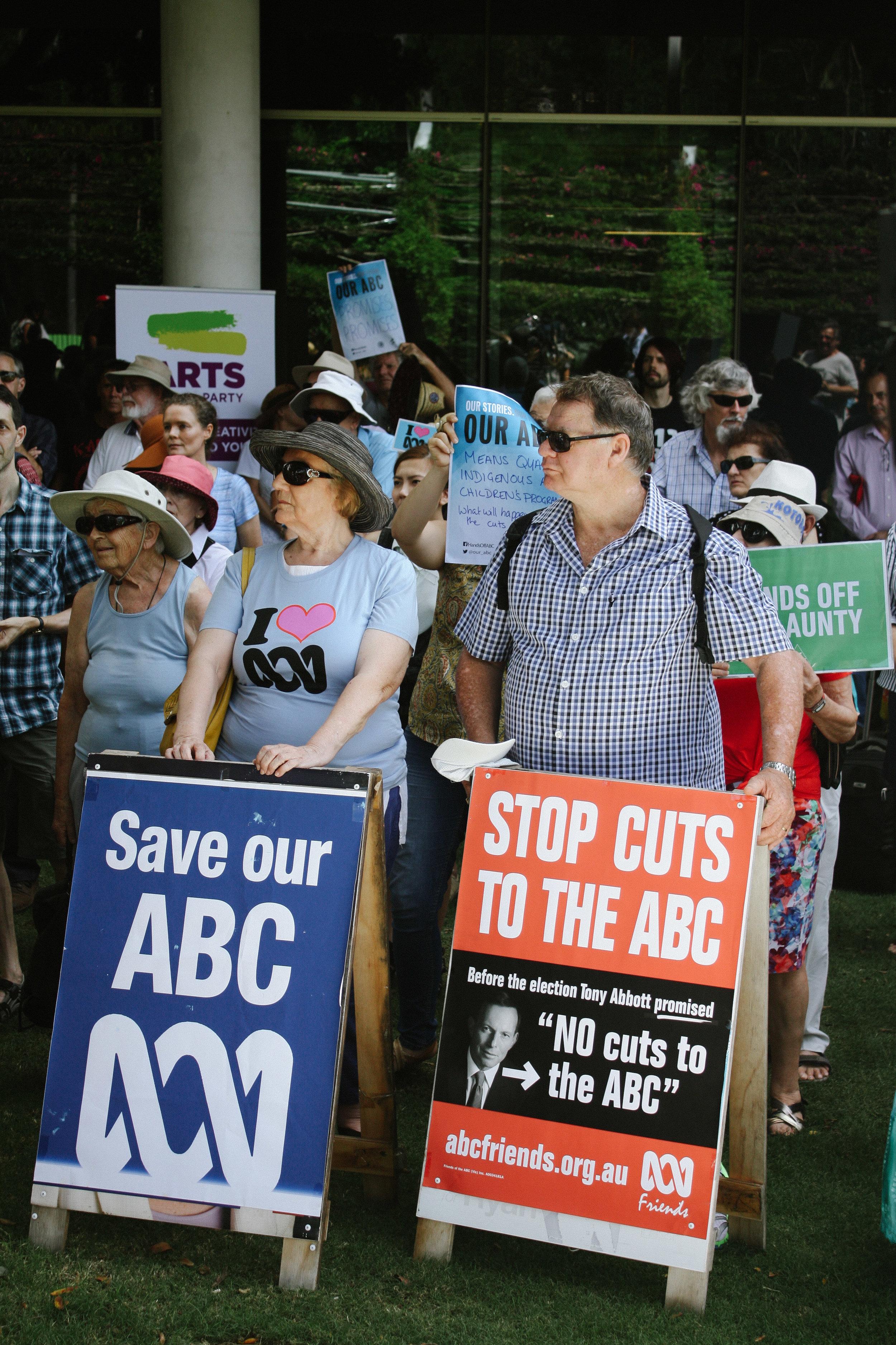 Lesly Lotha_Newzulu Australia_ABC cuts protest_Brisbane 06
