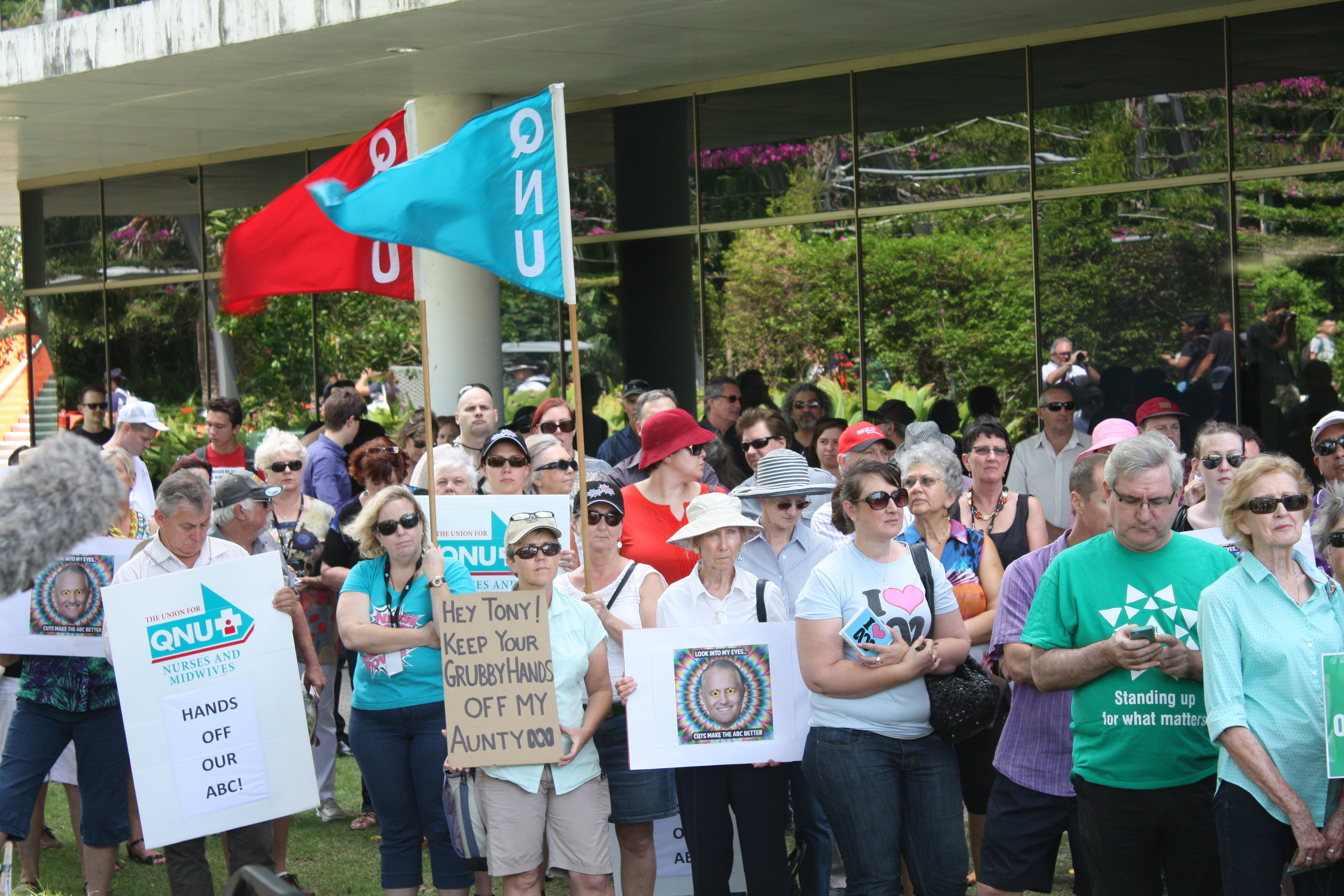 Lesly Lotha_Newzulu Australia_ABC cuts protest_Brisbane 07