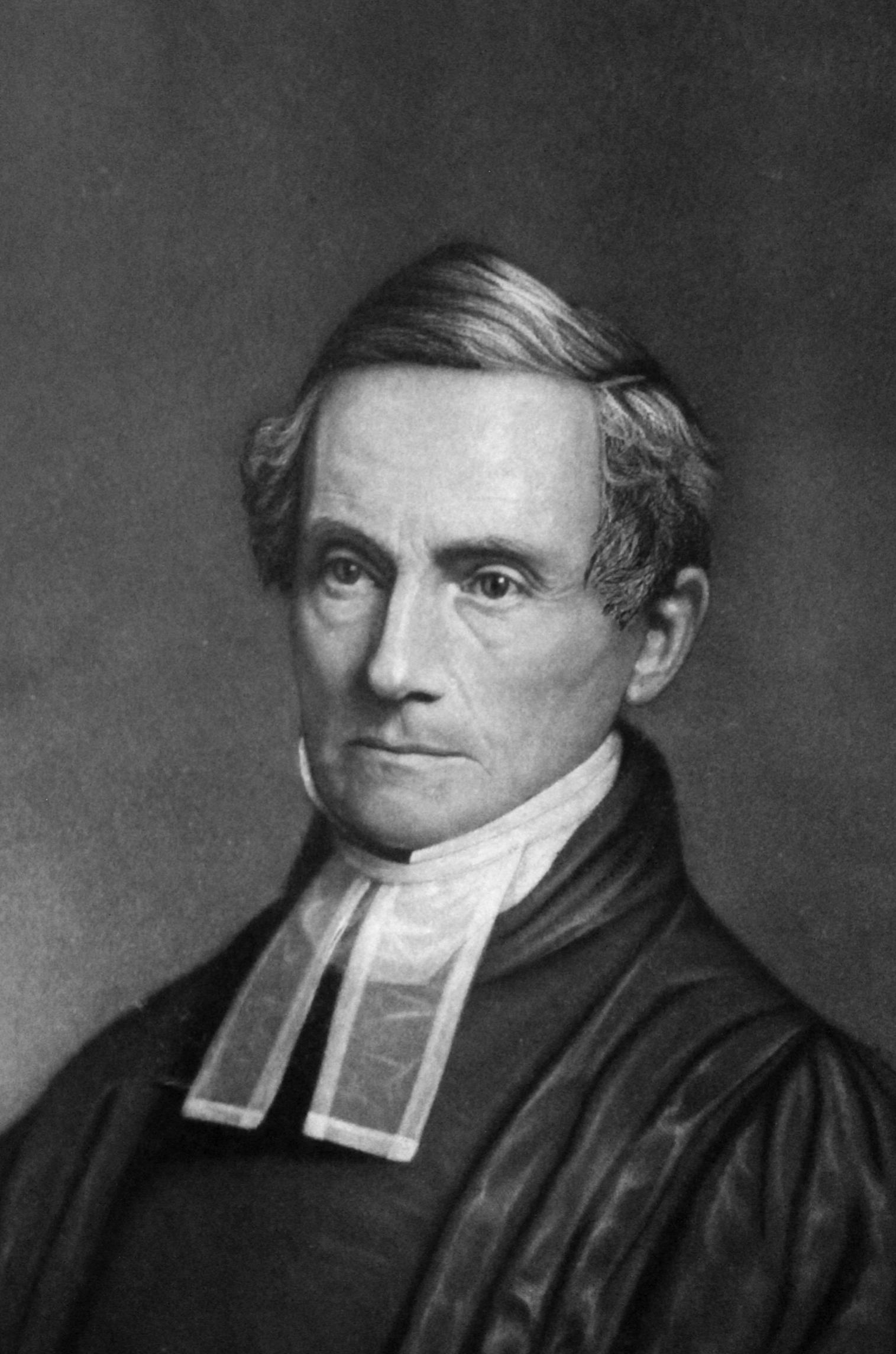 Rev. Benjamin Dorr, engraving from daguerreotype.Courtesy of the Carson family. Photo by Mark F. Knapp.