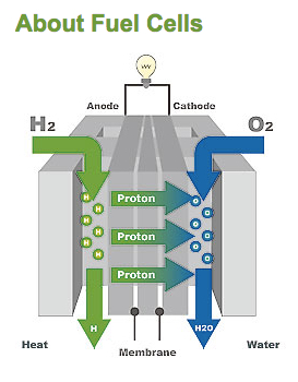 Fuel cells are identified with clean energy thus lowering energy costs and contributing a cleaner environment.