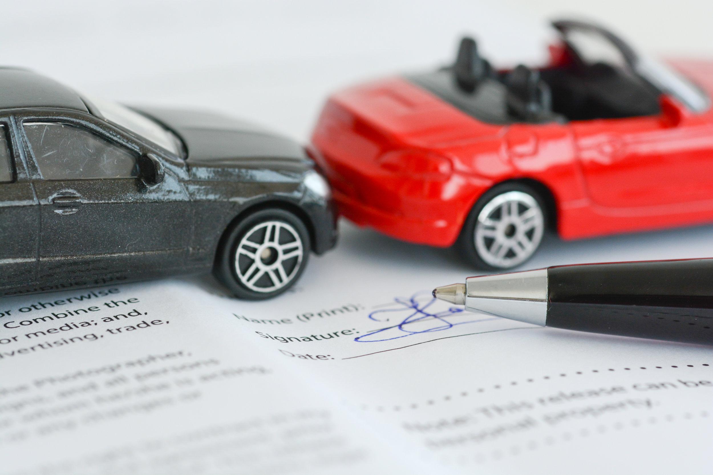 Sõiduki kahjude hindamine
