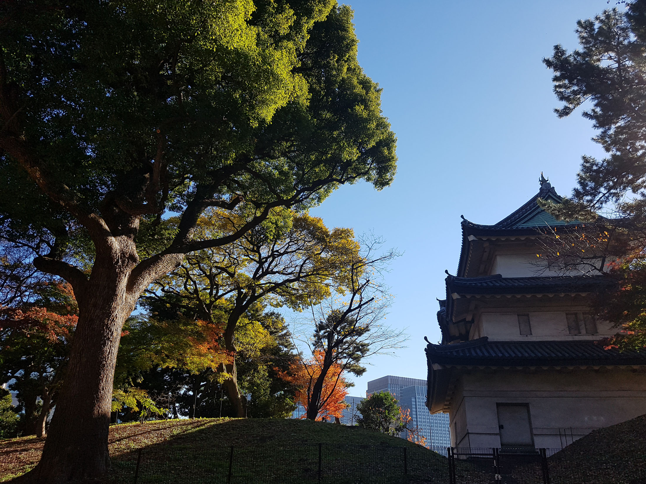 Palácio Imperial de Tóquio.