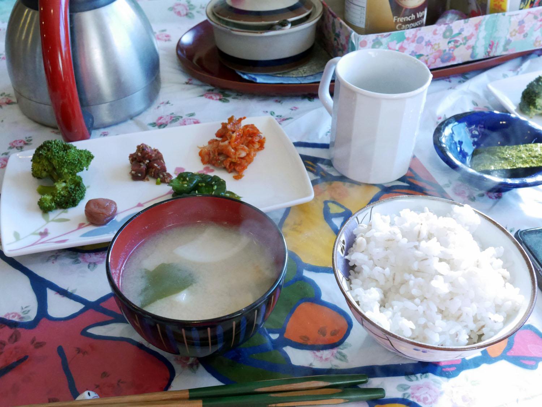 Café da manhã típico...